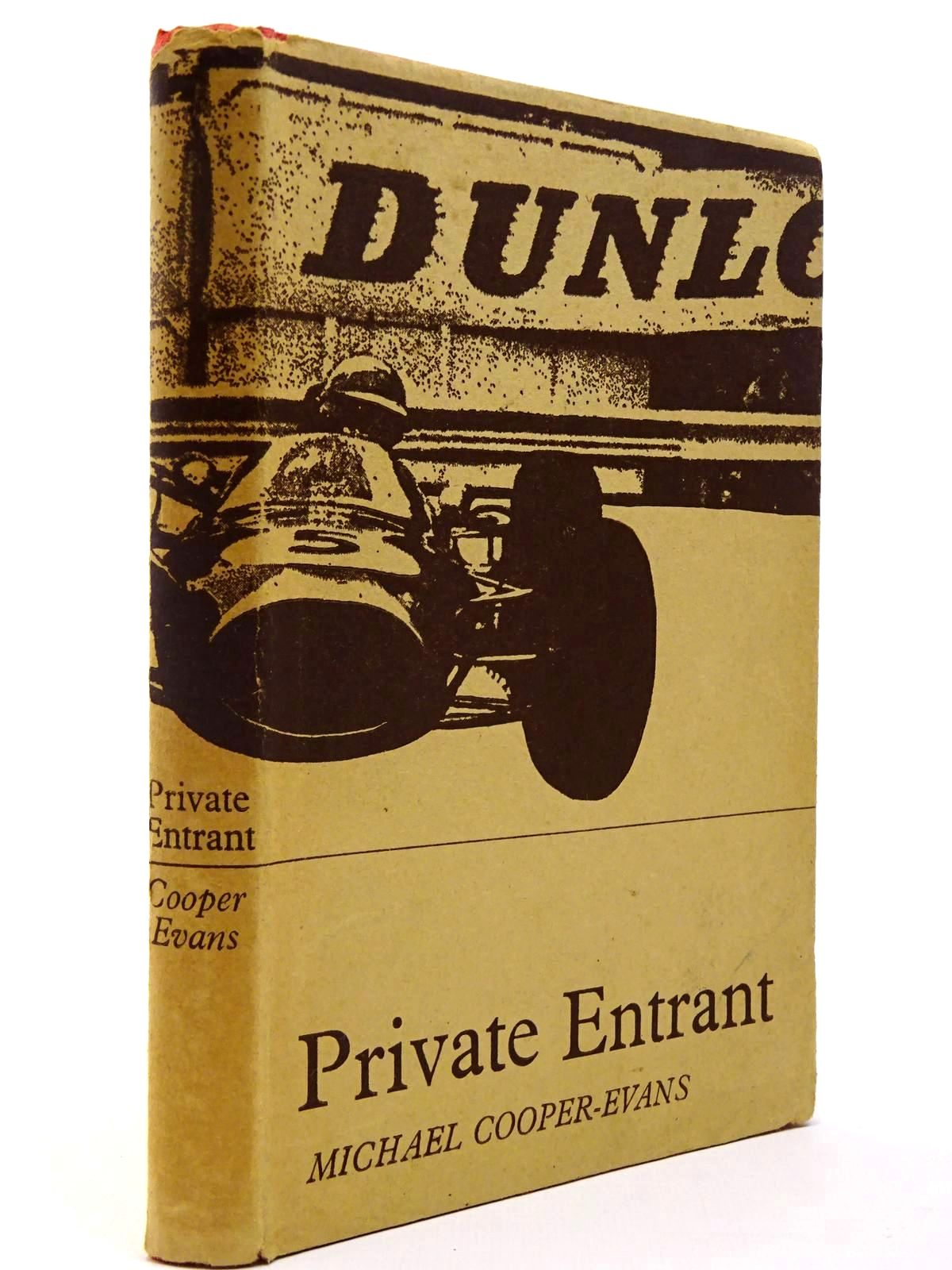 Photo of PRIVATE ENTRANT written by Cooper-Evans, Michael published by Motoraces Book Club (STOCK CODE: 2129739)  for sale by Stella & Rose's Books