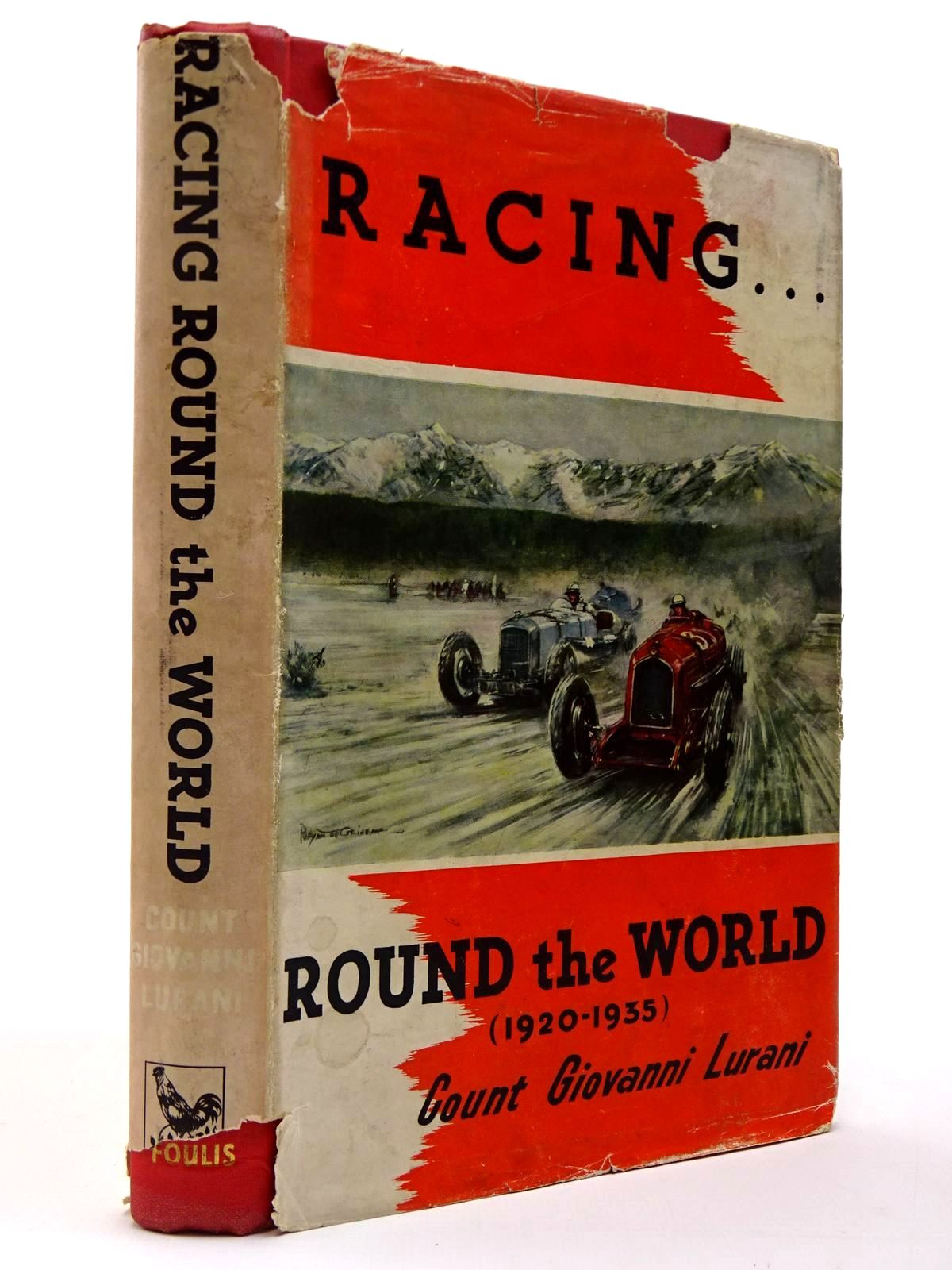 Photo of RACING ROUND THE WORLD written by Lurani, Giovanni