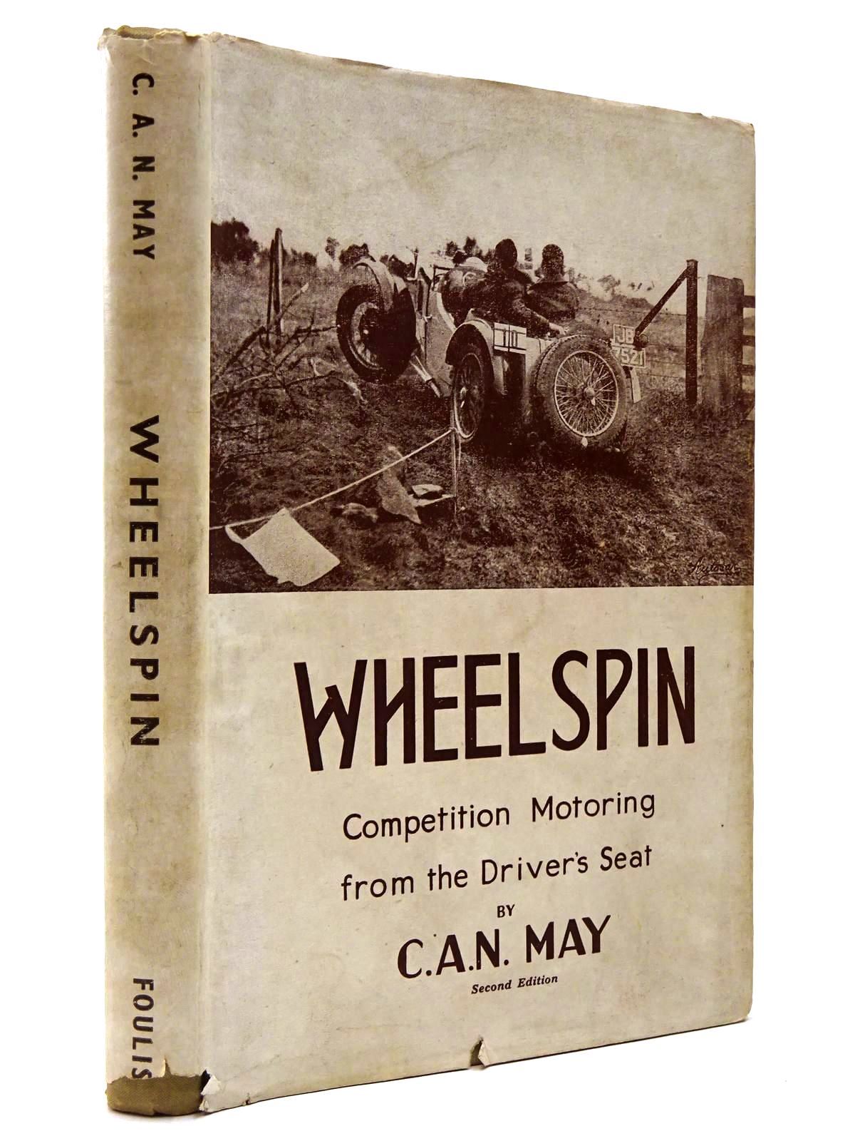 Photo of WHEELSPIN written by May, C.A.N. published by G.T. Foulis (STOCK CODE: 2129759)  for sale by Stella & Rose's Books