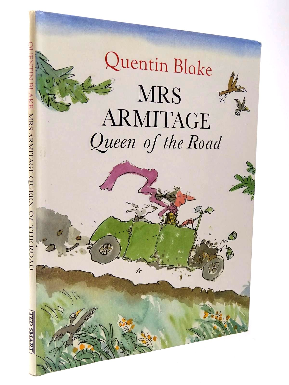 Photo of MRS ARMITAGE QUEEN OF THE ROAD written by Blake, Quentin illustrated by Blake, Quentin published by Ted Smart (STOCK CODE: 2129792)  for sale by Stella & Rose's Books