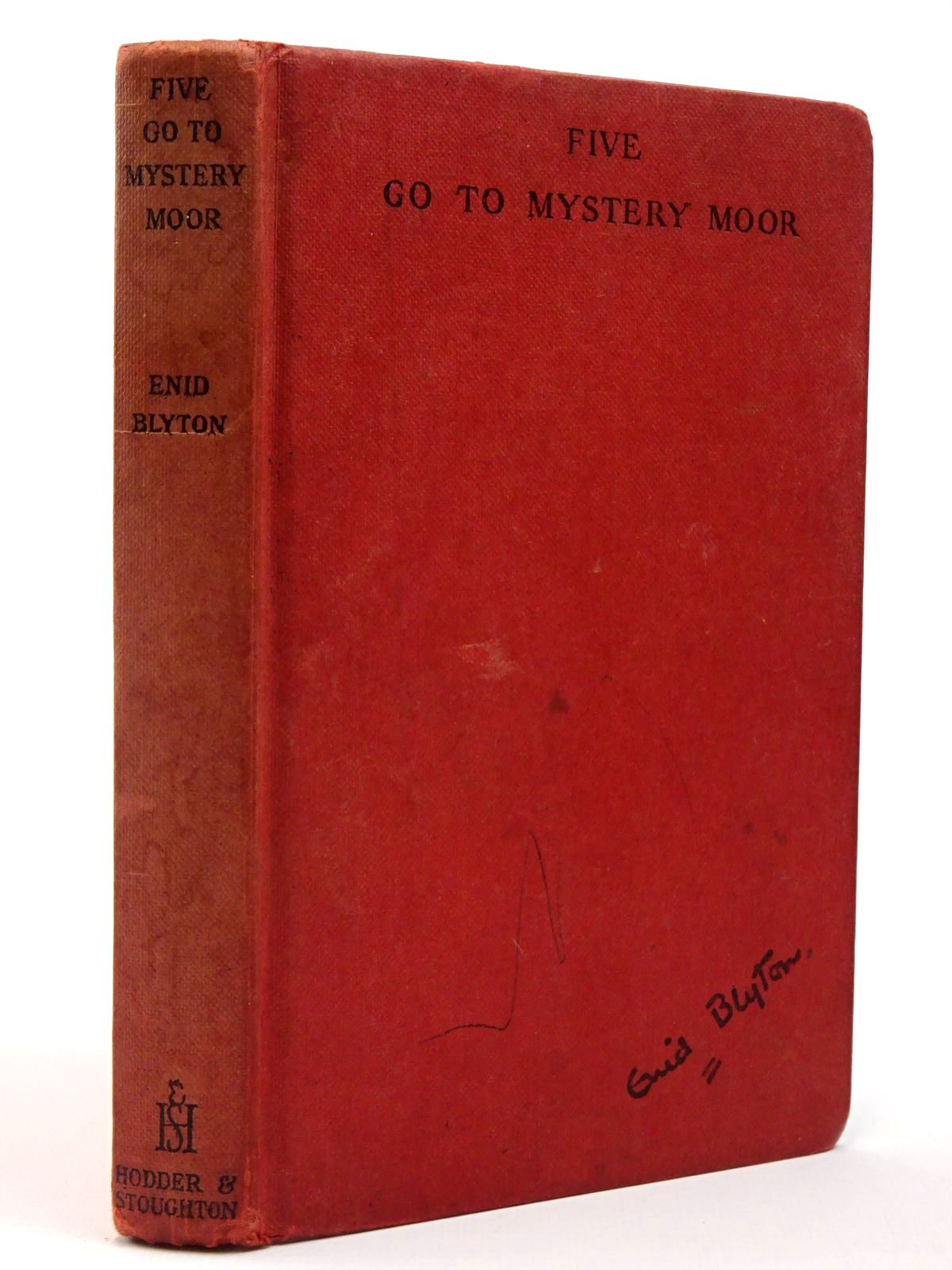 Photo of FIVE GO TO MYSTERY MOOR written by Blyton, Enid illustrated by Soper, Eileen published by Hodder & Stoughton (STOCK CODE: 2129806)  for sale by Stella & Rose's Books
