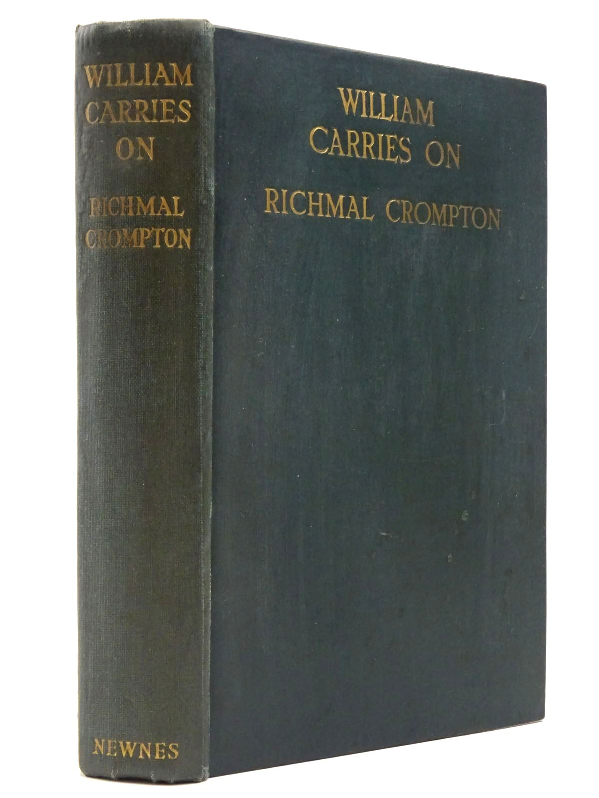 Photo of WILLIAM CARRIES ON written by Crompton, Richmal illustrated by Henry, Thomas published by George Newnes Ltd. (STOCK CODE: 2129808)  for sale by Stella & Rose's Books
