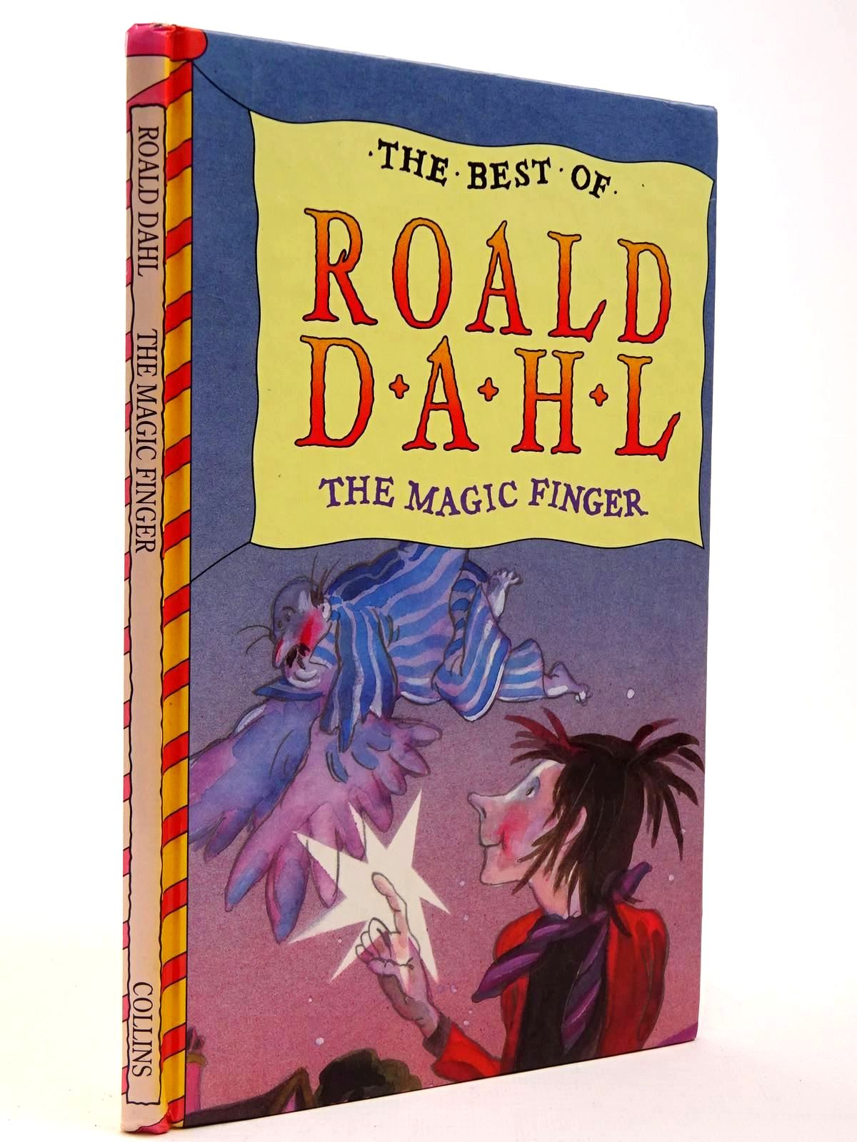 Photo of THE MAGIC FINGER written by Dahl, Roald illustrated by Ross, Tony published by Harper Collins (STOCK CODE: 2129846)  for sale by Stella & Rose's Books