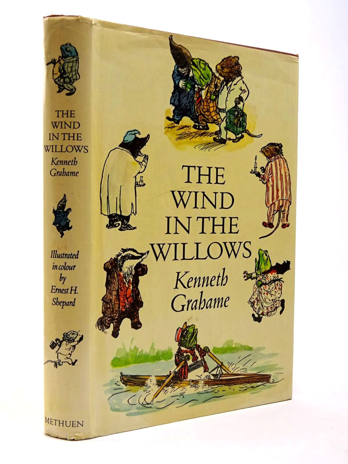 Photo of THE WIND IN THE WILLOWS written by Grahame, Kenneth illustrated by Shepard, E.H. published by Methuen Children's Books (STOCK CODE: 2129849)  for sale by Stella & Rose's Books