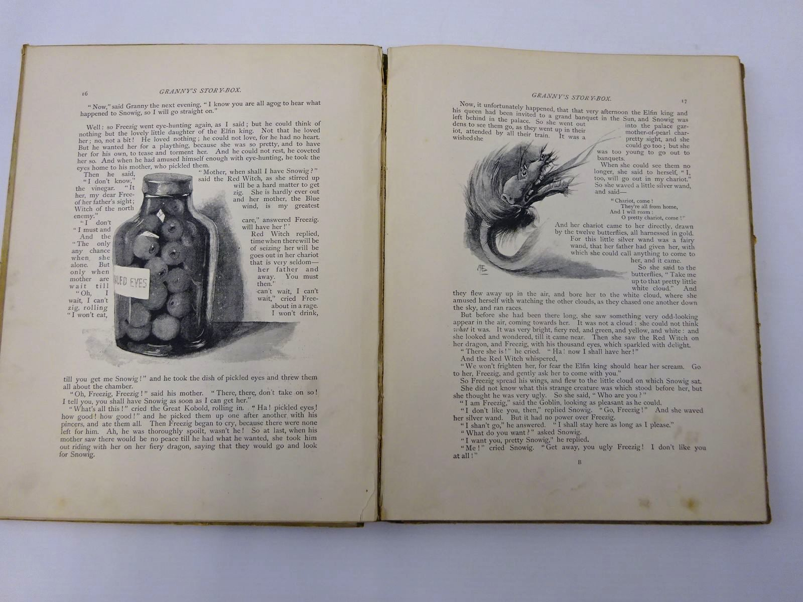Photo of GRANNY'S STORY BOX illustrated by Lucas, Marie Seymour published by Griffith Farran Okeden & Welsh (STOCK CODE: 2129854)  for sale by Stella & Rose's Books