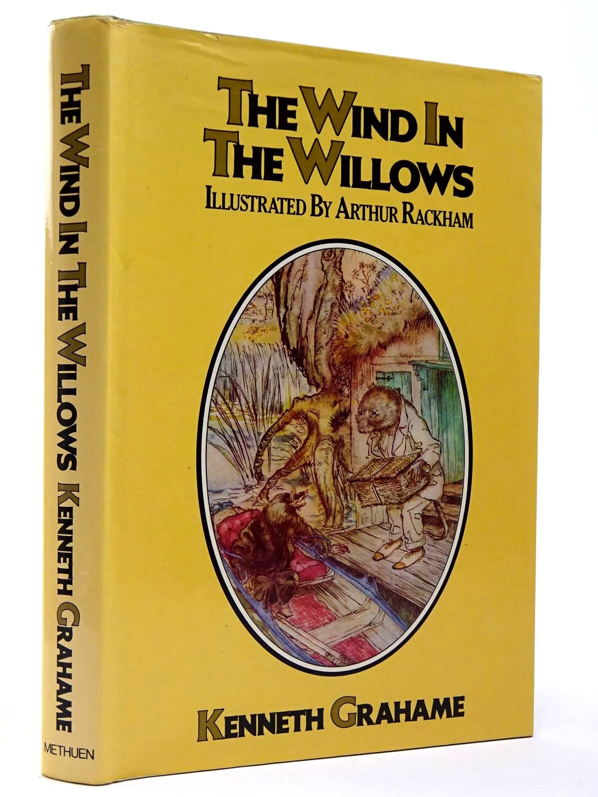 Photo of THE WIND IN THE WILLOWS written by Grahame, Kenneth illustrated by Rackham, Arthur published by Methuen Children's Books (STOCK CODE: 2129860)  for sale by Stella & Rose's Books