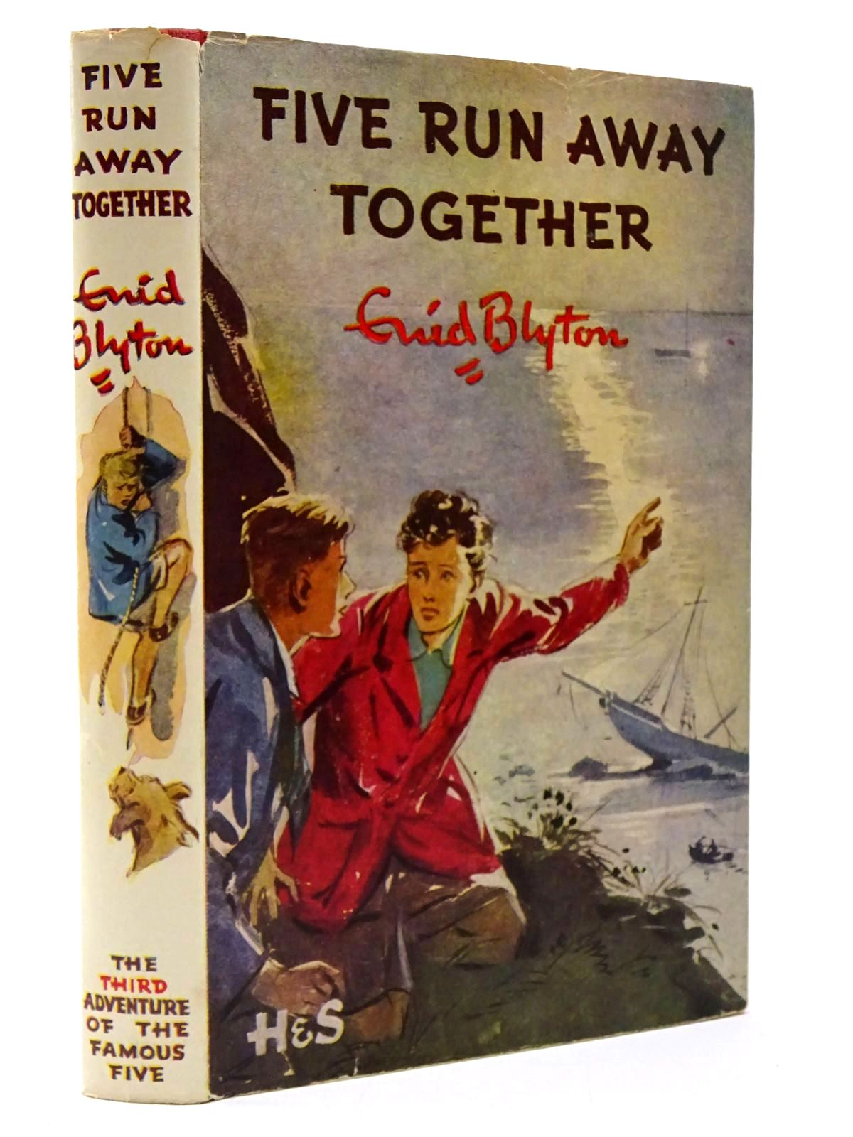 Photo of FIVE RUN AWAY TOGETHER written by Blyton, Enid illustrated by Soper, Eileen published by Hodder & Stoughton (STOCK CODE: 2129886)  for sale by Stella & Rose's Books