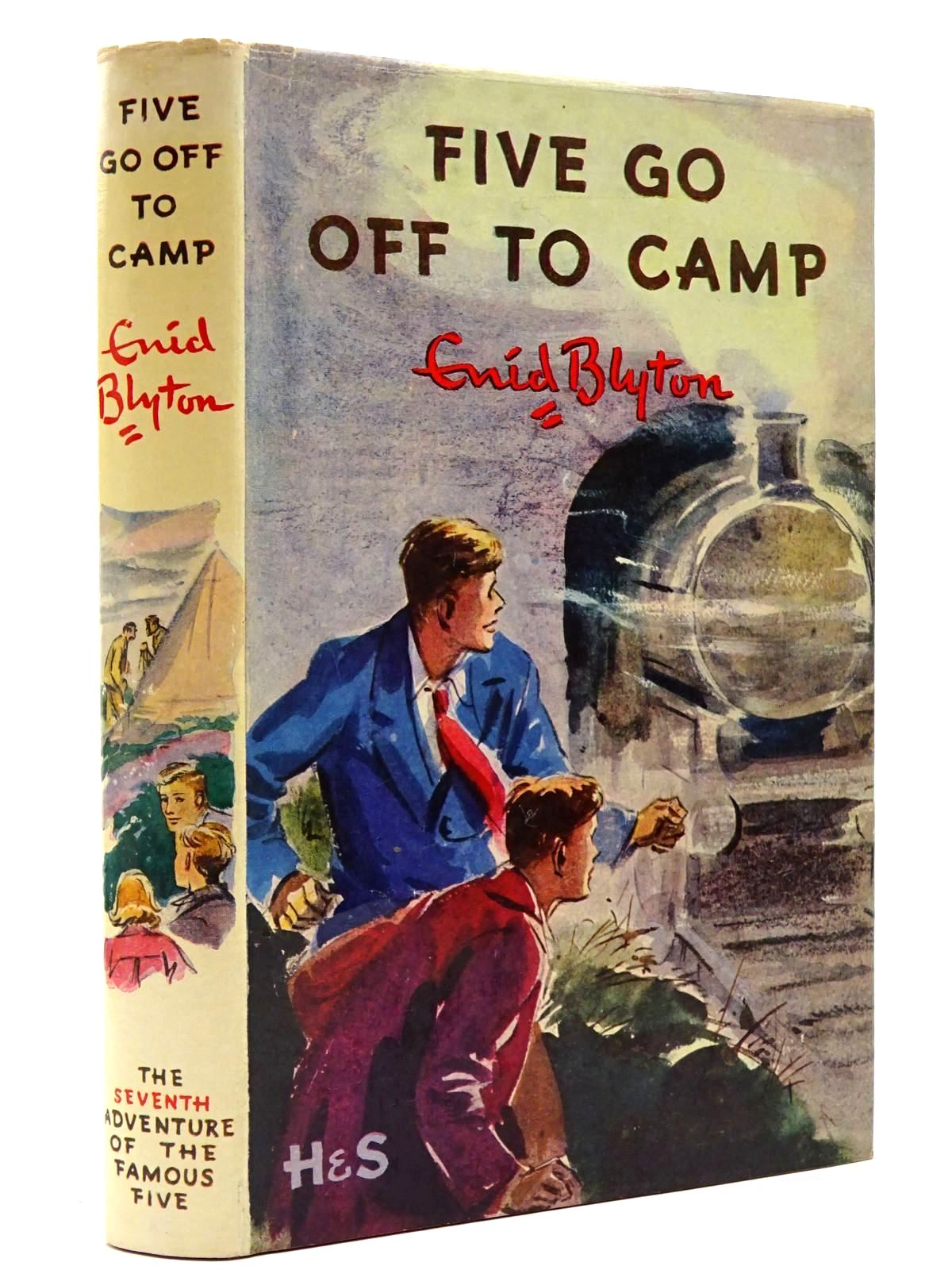 Photo of FIVE GO OFF TO CAMP written by Blyton, Enid illustrated by Soper, Eileen published by Hodder & Stoughton (STOCK CODE: 2129889)  for sale by Stella & Rose's Books
