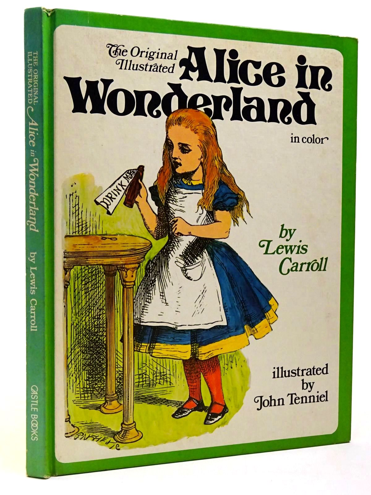 Photo of THE ORIGINAL ILLUSTRATED ALICE IN WONDERLAND written by Carroll, Lewis illustrated by Tenniel, John Selway, Martina published by Castle Books (STOCK CODE: 2129899)  for sale by Stella & Rose's Books
