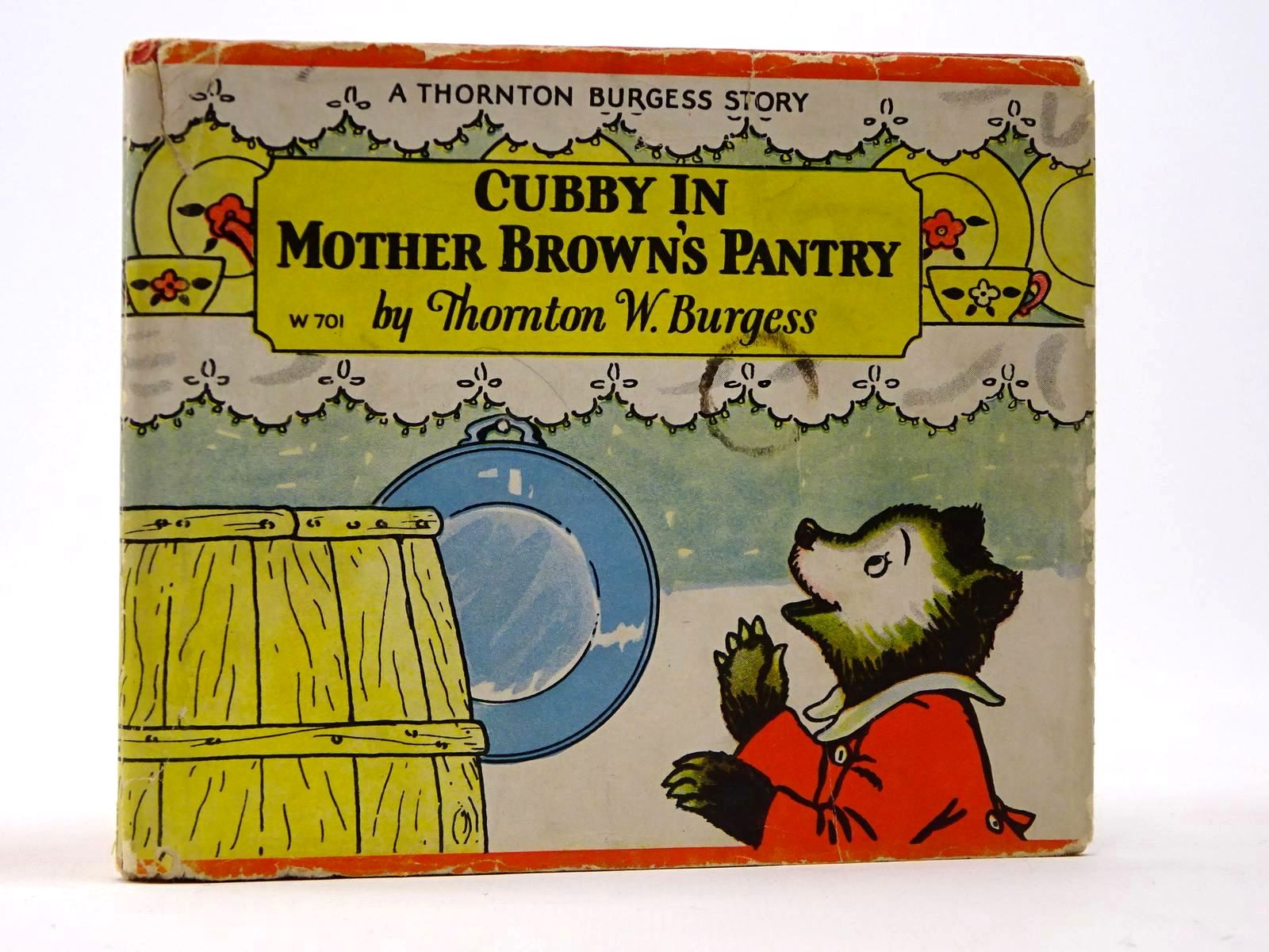 Photo of CUBBY IN MOTHER BROWN'S PANTRY written by Burgess, Thornton W. illustrated by Jordan, Nina R. published by Whitman Publishing Company (STOCK CODE: 2129901)  for sale by Stella & Rose's Books