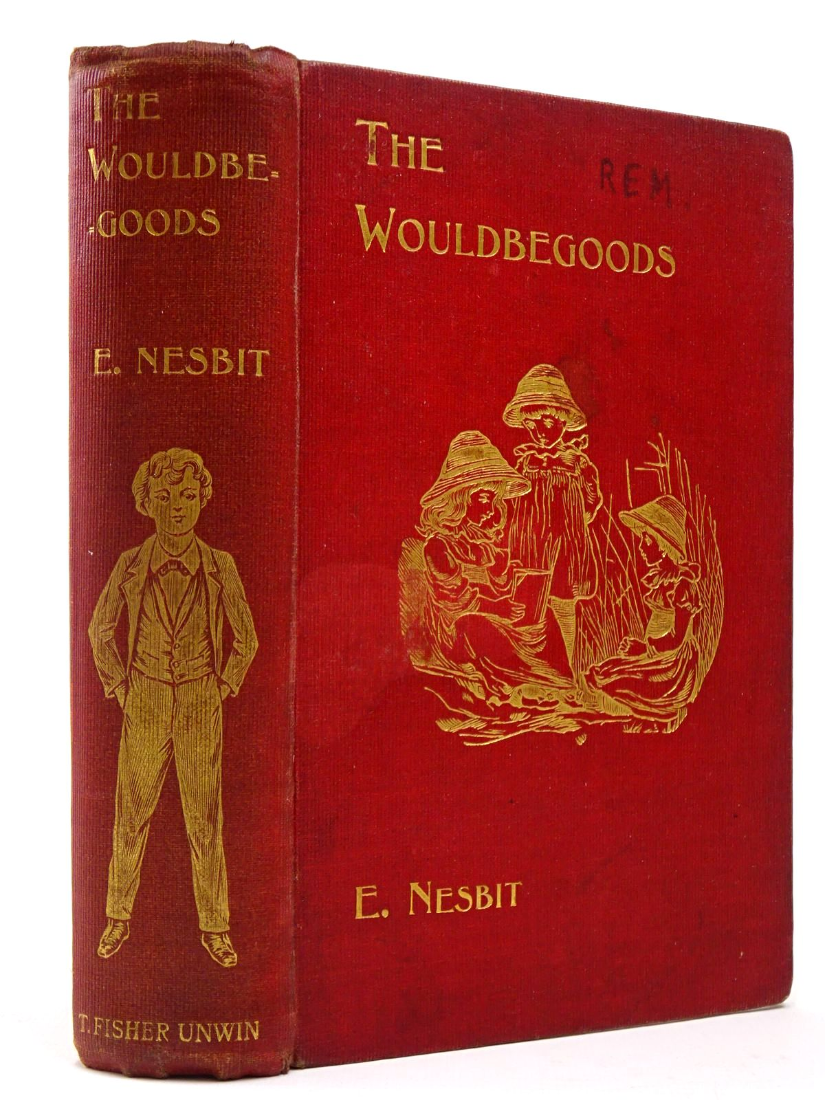 Photo of THE WOULDBEGOODS written by Nesbit, E. published by T. Fisher Unwin (STOCK CODE: 2129926)  for sale by Stella & Rose's Books