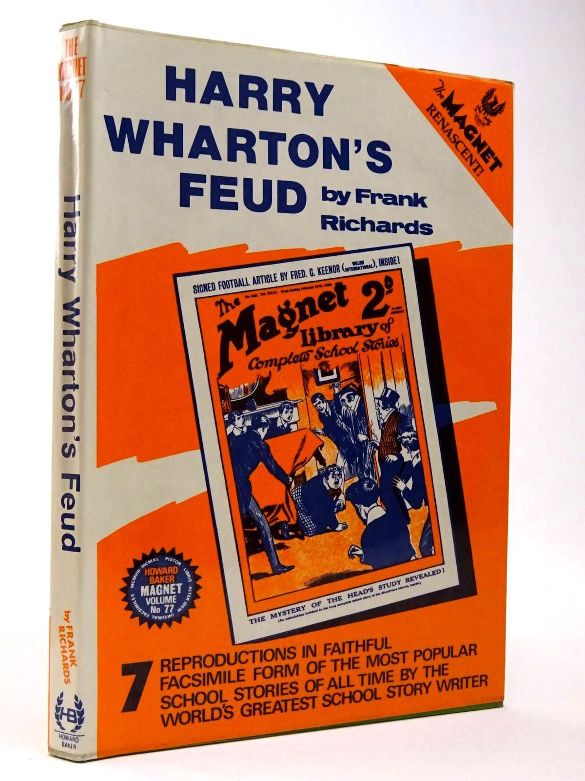 Photo of HARRY WHARTON'S FEUD written by Richards, Frank published by Howard Baker (STOCK CODE: 2129933)  for sale by Stella & Rose's Books