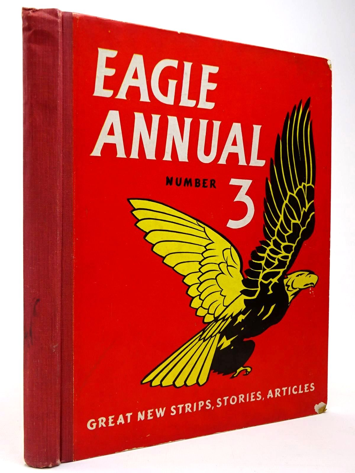 Photo of EAGLE ANNUAL No. 3 written by Morris, Marcus Johns, W.E. published by Hulton Press Ltd. (STOCK CODE: 2129937)  for sale by Stella & Rose's Books