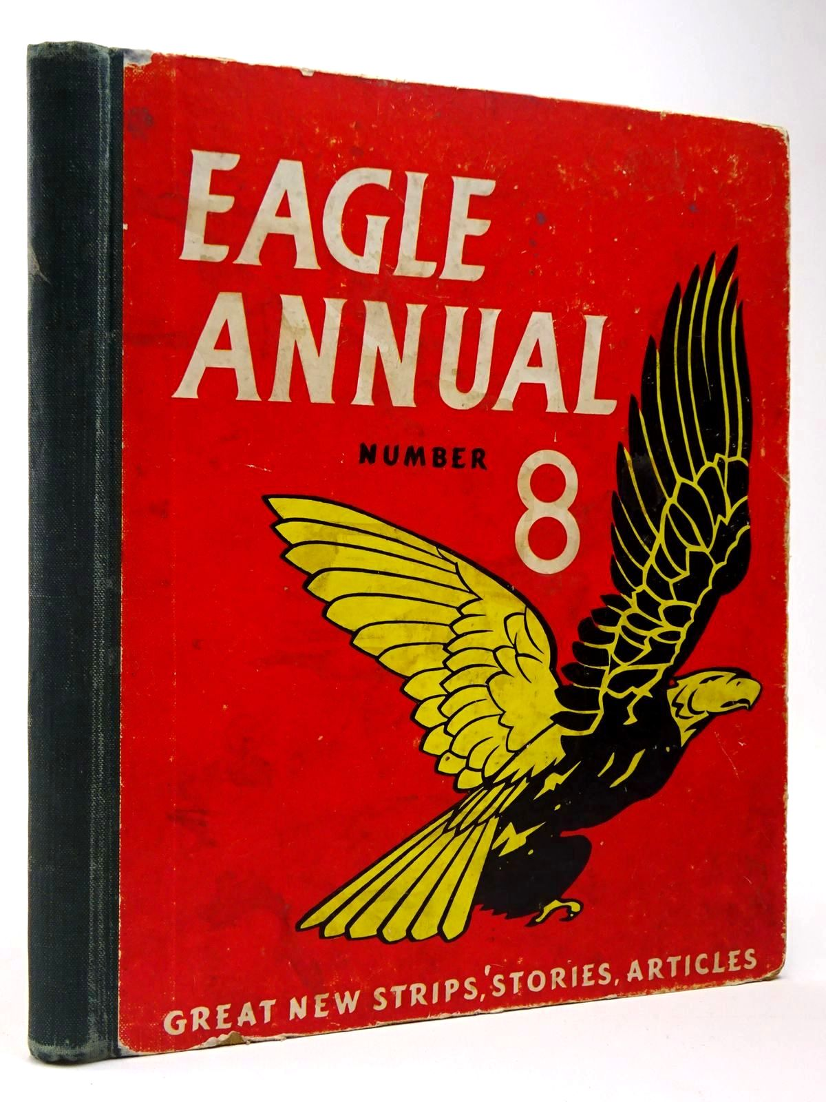 Photo of EAGLE ANNUAL No. 8 written by Morris, Marcus published by Hulton Press (STOCK CODE: 2129940)  for sale by Stella & Rose's Books