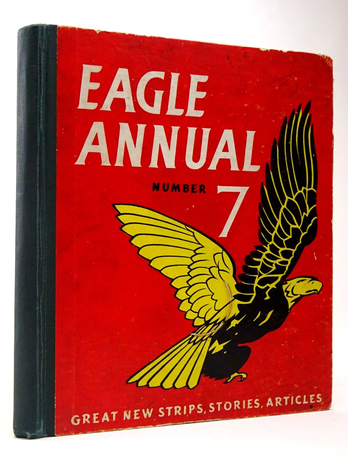 Photo of EAGLE ANNUAL No. 7 written by Morris, Marcus published by Hulton Press (STOCK CODE: 2129943)  for sale by Stella & Rose's Books