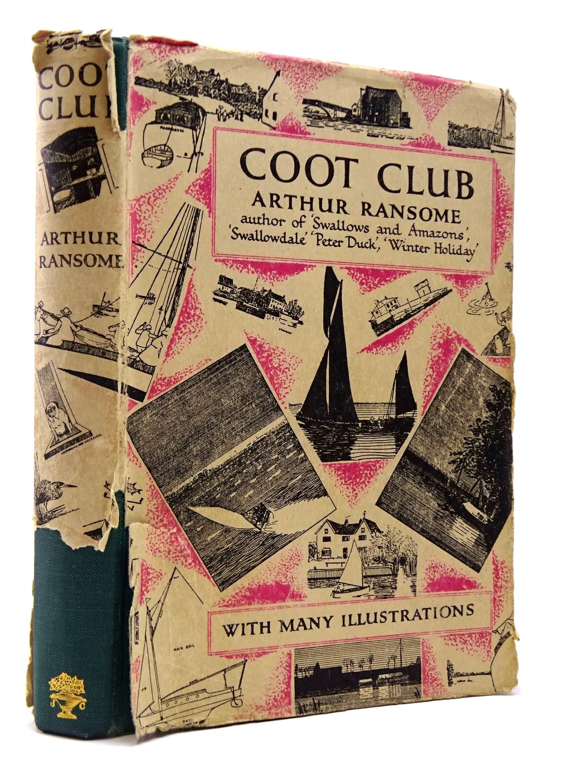 Photo of COOT CLUB written by Ransome, Arthur illustrated by Ransome, Arthur published by Jonathan Cape (STOCK CODE: 2129959)  for sale by Stella & Rose's Books