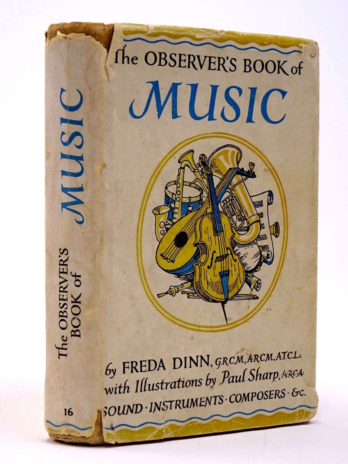 Photo of THE OBSERVER'S BOOK OF MUSIC written by Dinn, Freda illustrated by Sharp, Paul published by Frederick Warne & Co Ltd. (STOCK CODE: 2129974)  for sale by Stella & Rose's Books