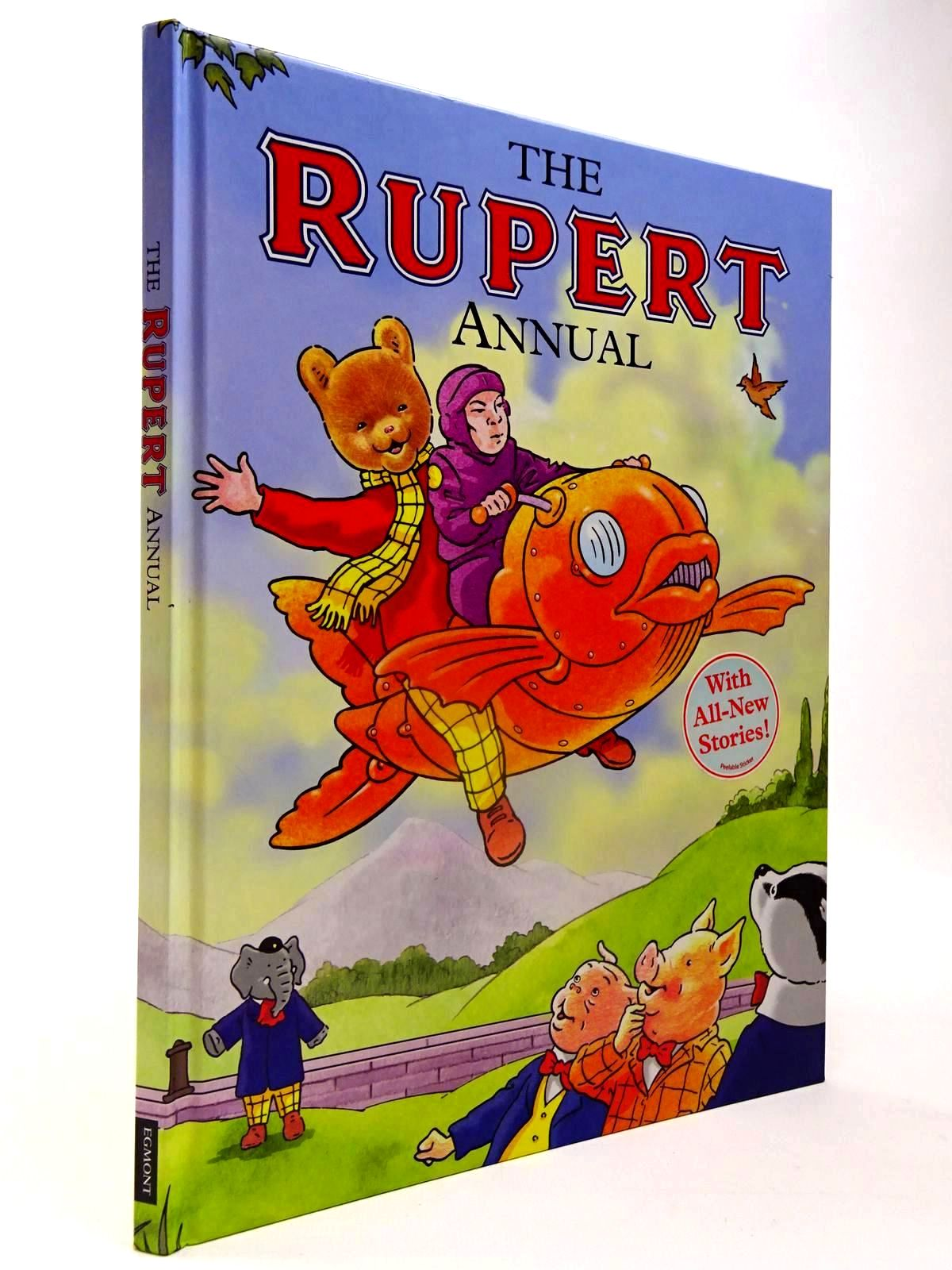 Photo of RUPERT ANNUAL 2009 written by Trotter, Stuart illustrated by Trotter, Stuart published by Egmont Books Ltd. (STOCK CODE: 2130141)  for sale by Stella & Rose's Books
