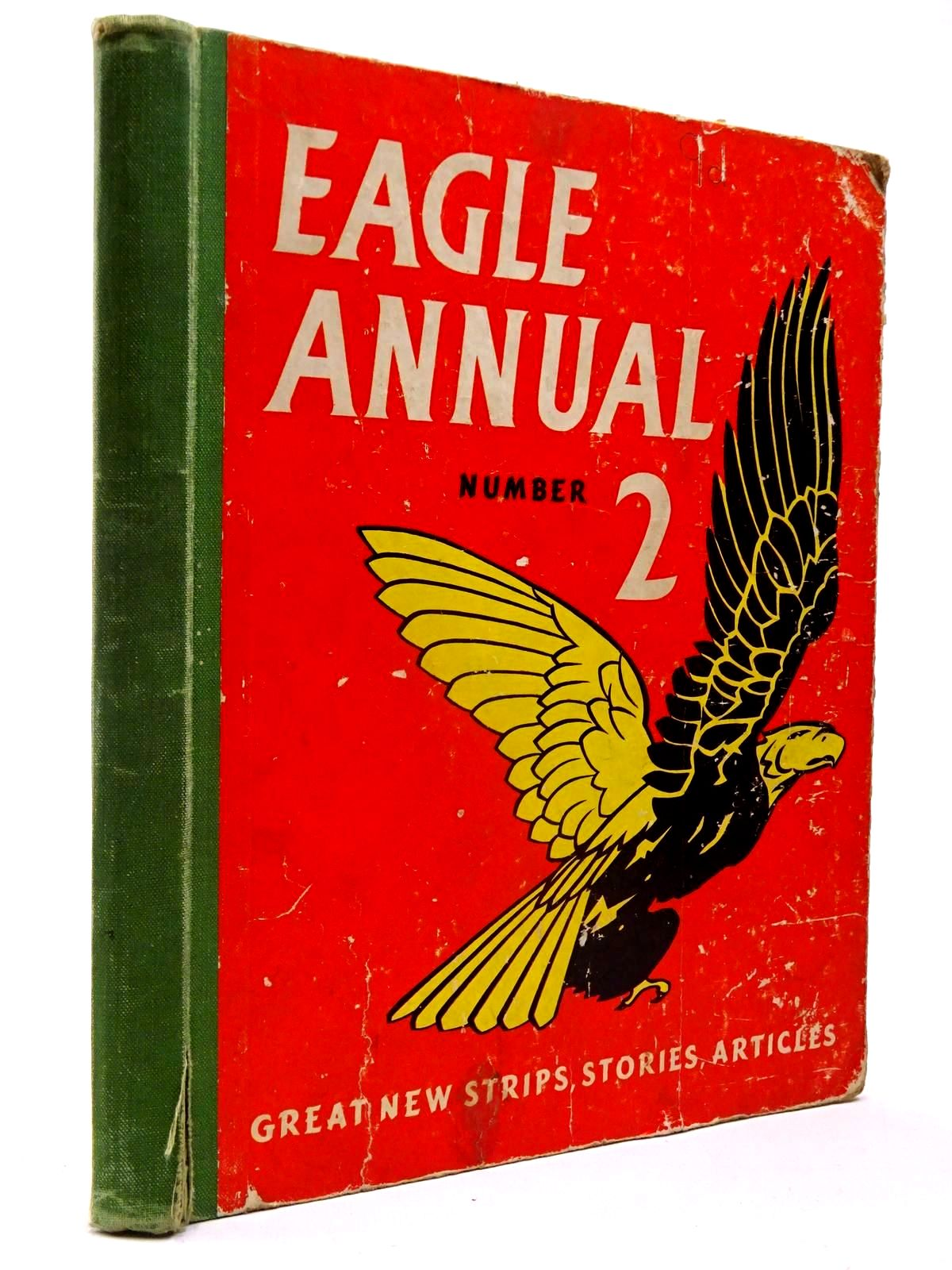 Photo of EAGLE ANNUAL No. 2 written by Morris, Marcus