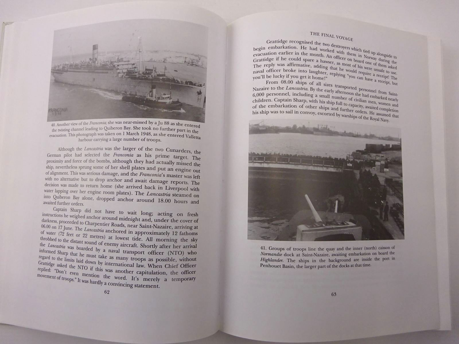 Photo of THE FORGOTTEN TRAGEDY THE STORY OF THE SINKING OF THE HMT LANCASTRIA written by Crabb, Brian James published by Shaun Tyas (STOCK CODE: 2130168)  for sale by Stella & Rose's Books