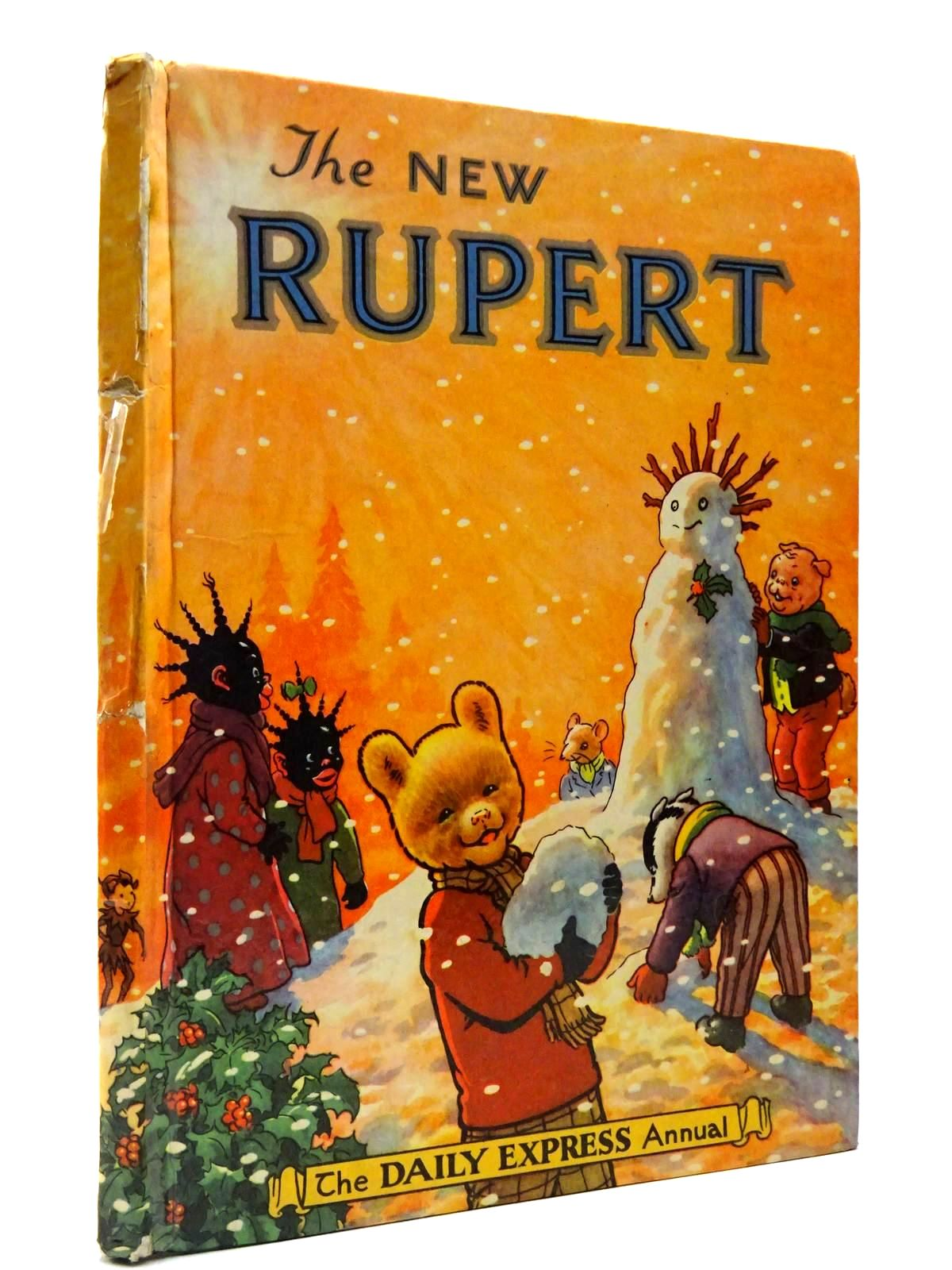 Photo of RUPERT ANNUAL 1954 - THE NEW RUPERT written by Bestall, Alfred illustrated by Bestall, Alfred published by Daily Express (STOCK CODE: 2130171)  for sale by Stella & Rose's Books