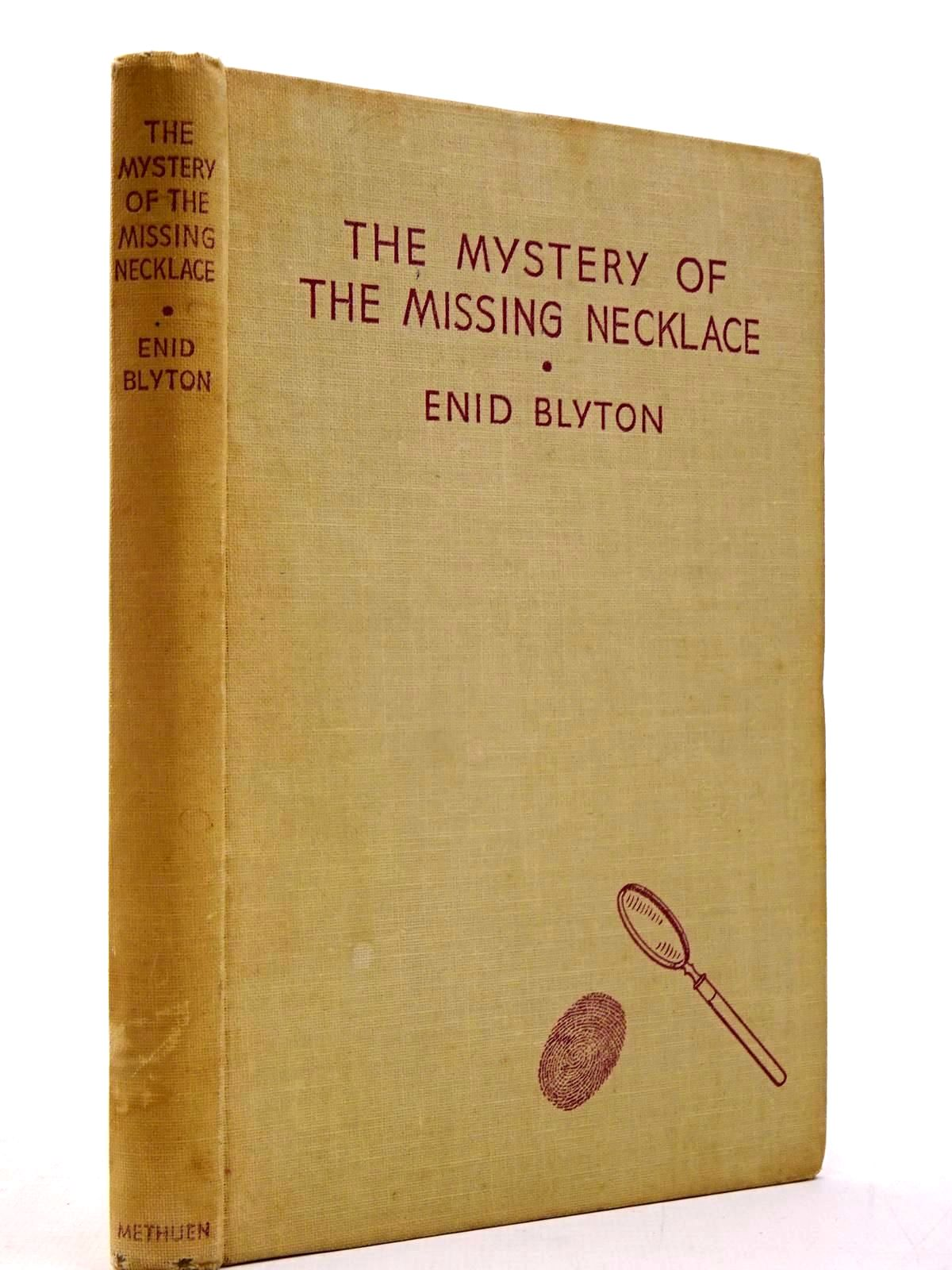 Photo of THE MYSTERY OF THE MISSING NECKLACE written by Blyton, Enid illustrated by Abbey, J. published by Methuen & Co. Ltd. (STOCK CODE: 2130178)  for sale by Stella & Rose's Books