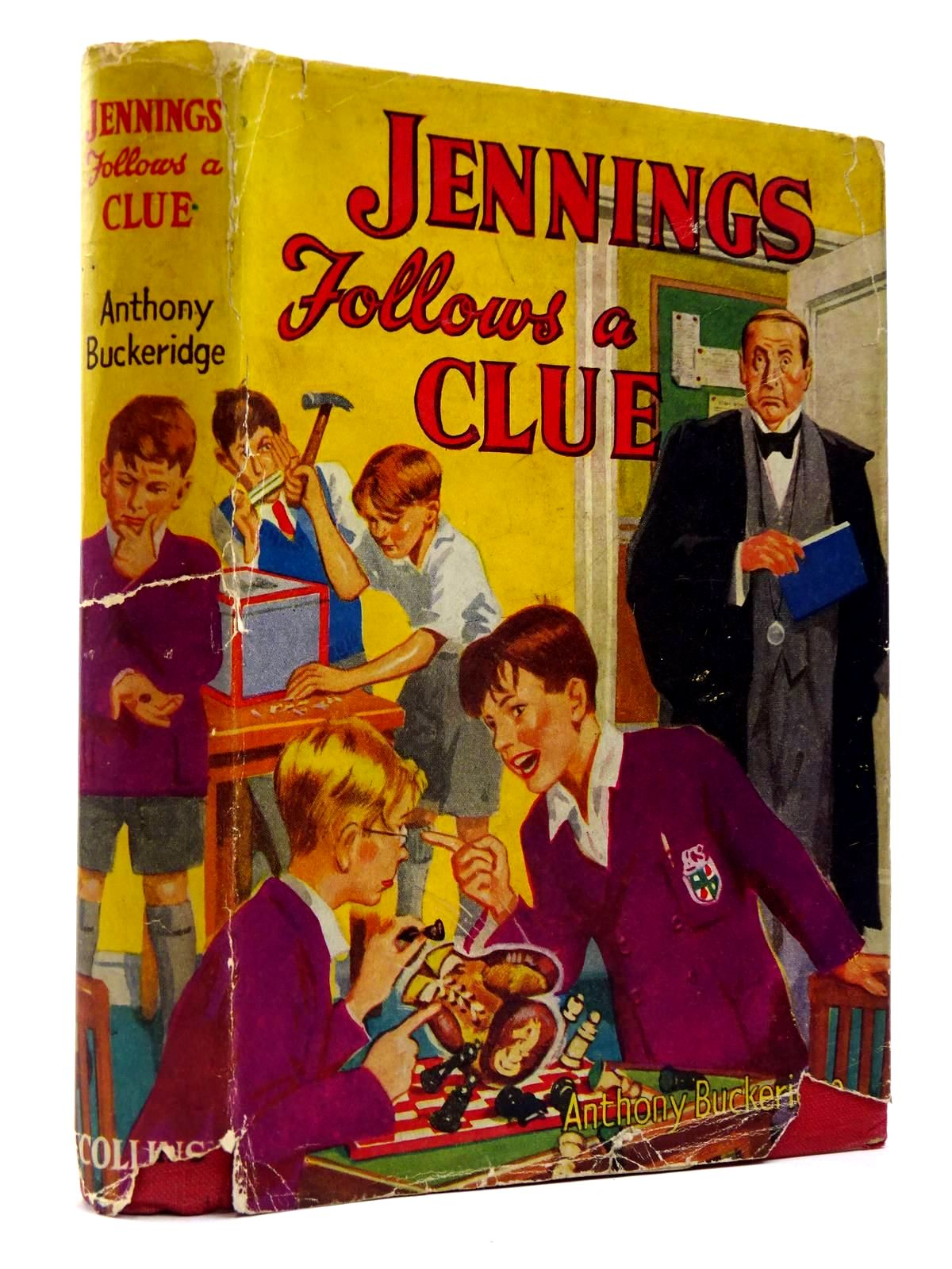 Photo of JENNINGS FOLLOWS A CLUE written by Buckeridge, Anthony published by Collins (STOCK CODE: 2130185)  for sale by Stella & Rose's Books
