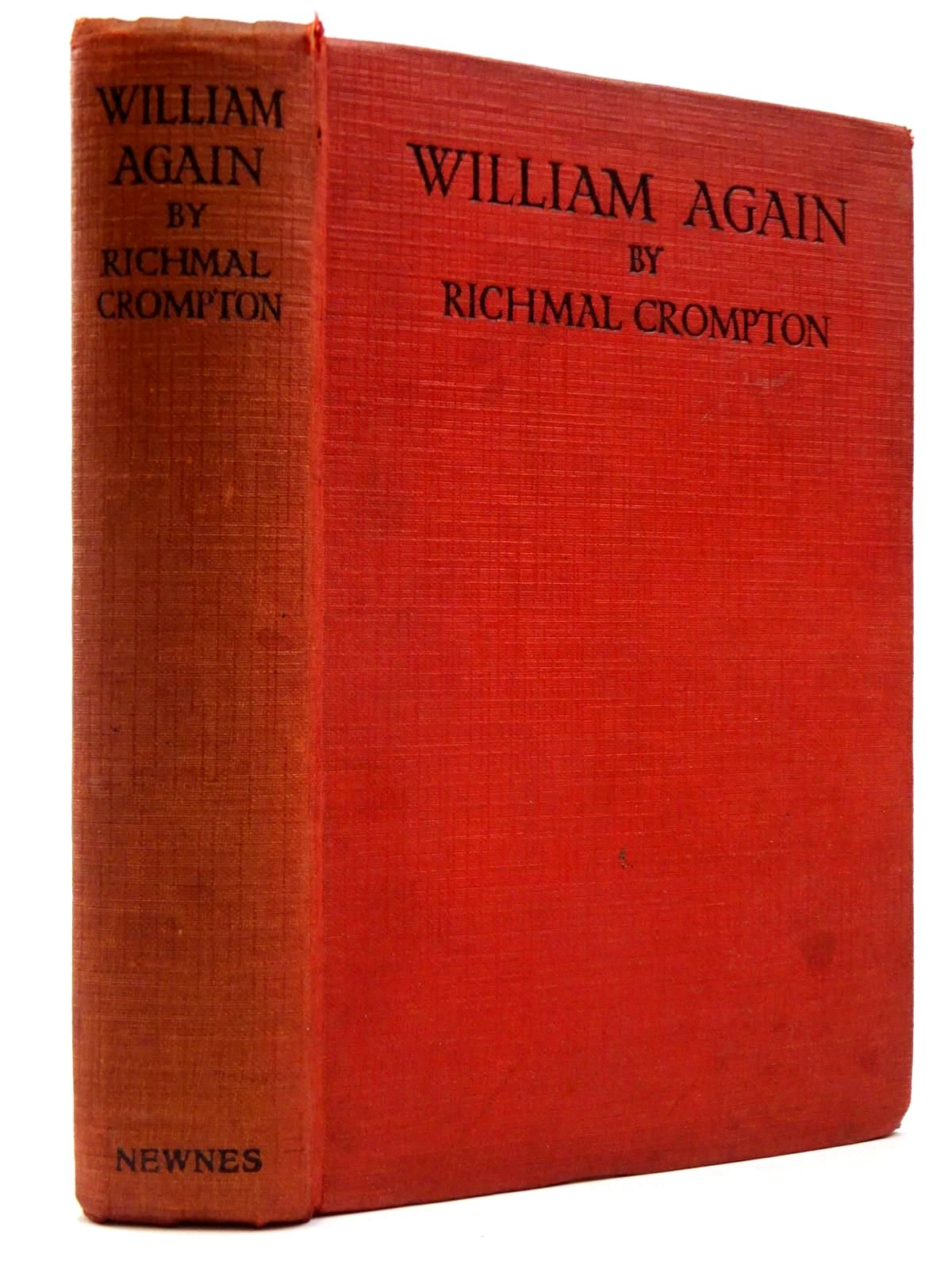 Photo of WILLIAM AGAIN written by Crompton, Richmal illustrated by Henry, Thomas published by George Newnes Ltd. (STOCK CODE: 2130186)  for sale by Stella & Rose's Books