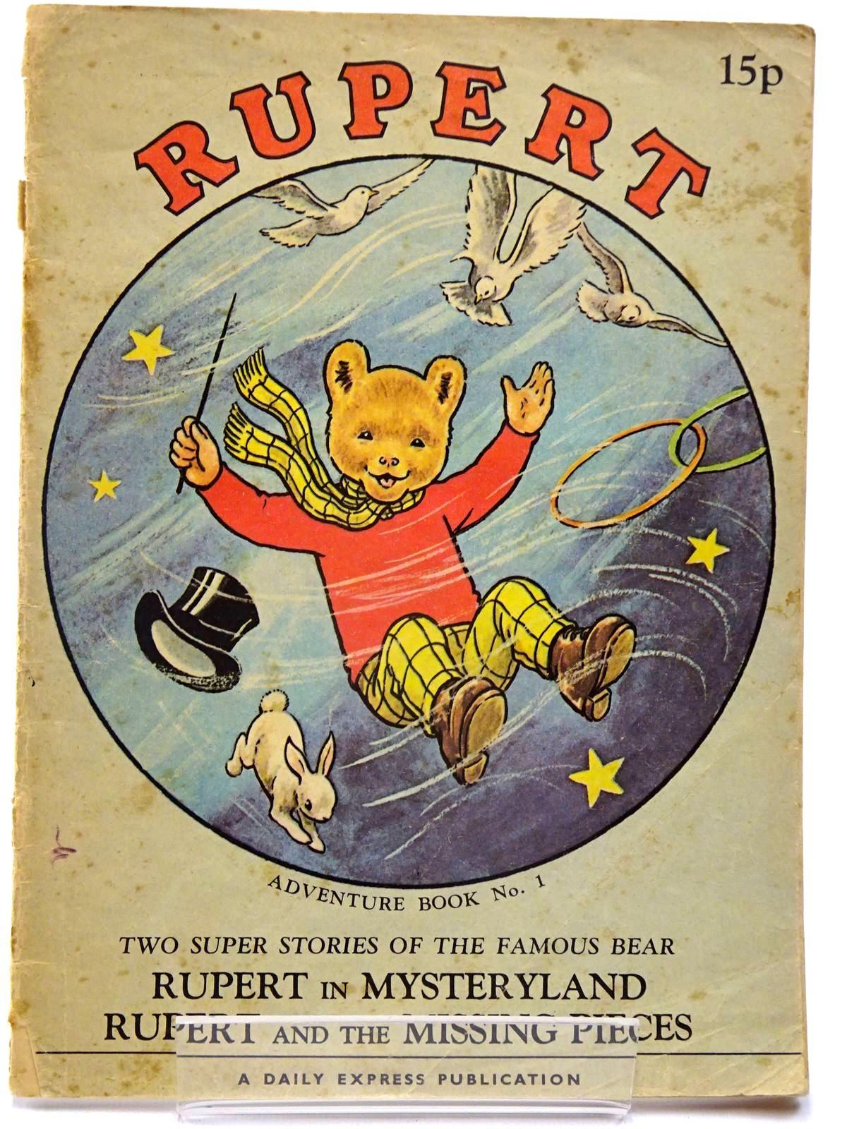 Photo of RUPERT ADVENTURE BOOK NO. 1- Stock Number: 2130226