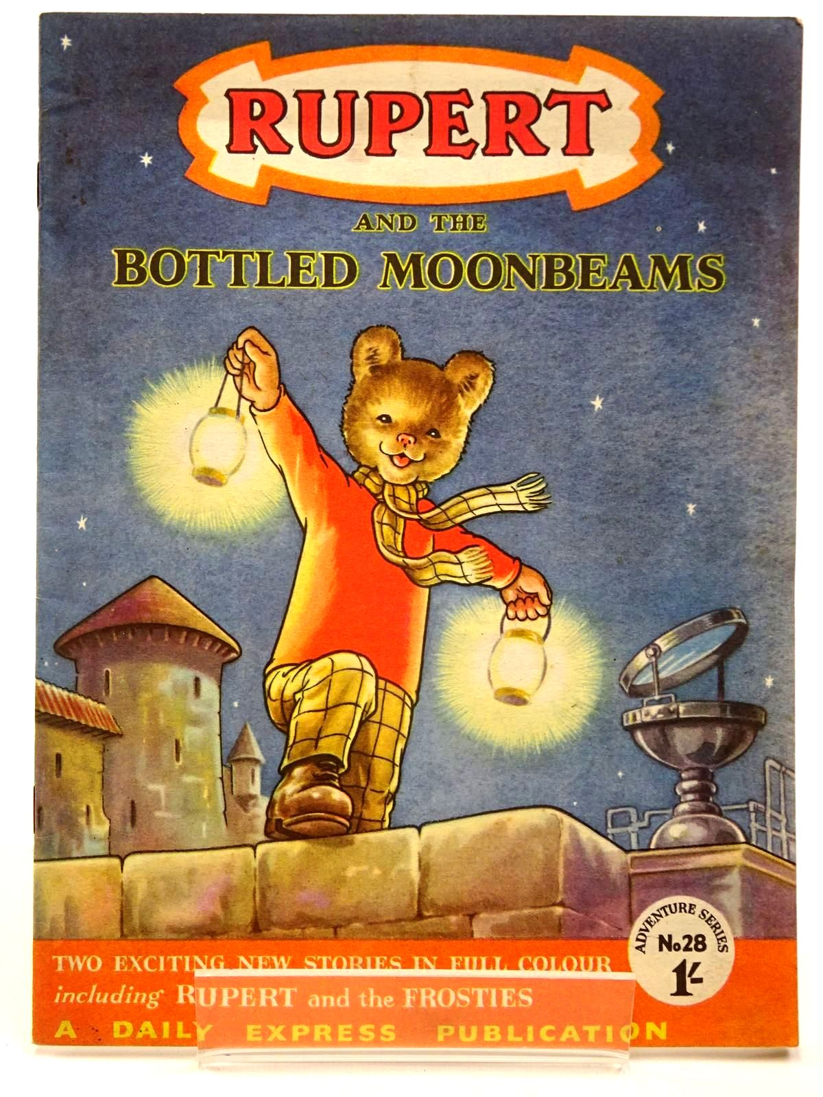Photo of RUPERT ADVENTURE SERIES No. 28 - RUPERT AND THE BOTTLED MOONBEAMS written by Bestall, Alfred published by Daily Express (STOCK CODE: 2130228)  for sale by Stella & Rose's Books