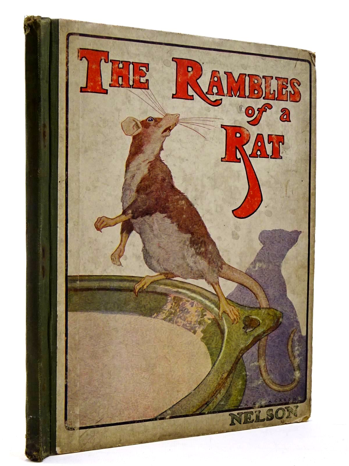 Photo of THE RAMBLES OF A RAT- Stock Number: 2130232