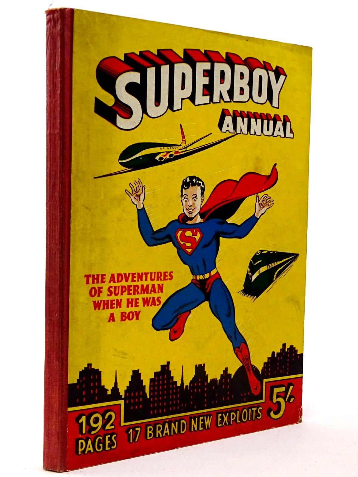Photo of SUPERBOY ANNUAL 1953-4- Stock Number: 2130234
