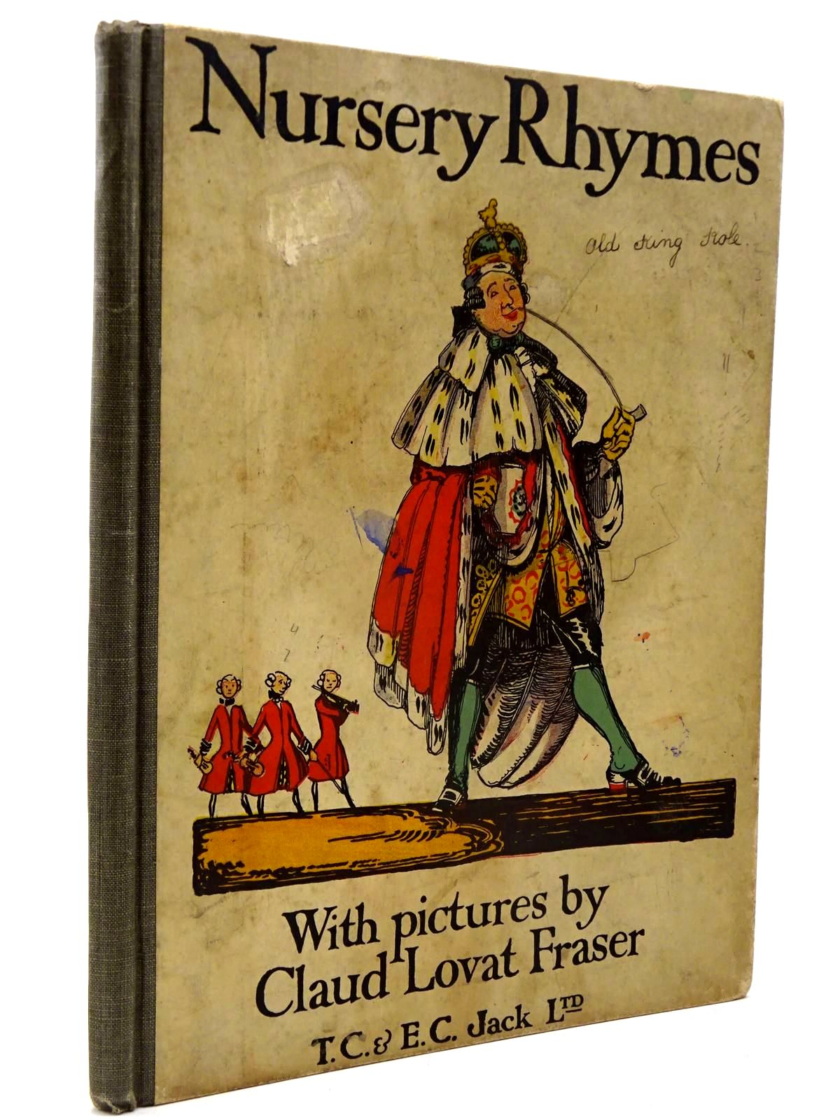 Photo of NURSERY RHYMES illustrated by Fraser, Claud Lovat published by T.C. & E.C. Jack (STOCK CODE: 2130235)  for sale by Stella & Rose's Books