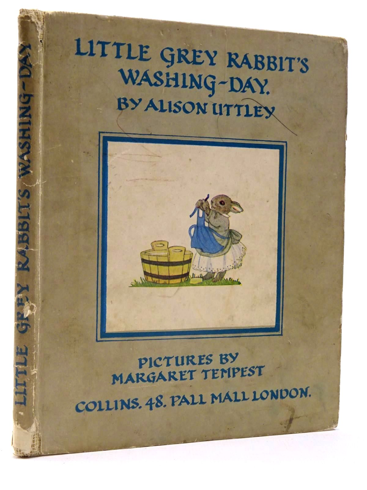 Photo of LITTLE GREY RABBIT'S WASHING-DAY written by Uttley, Alison illustrated by Tempest, Margaret published by Collins (STOCK CODE: 2130240)  for sale by Stella & Rose's Books