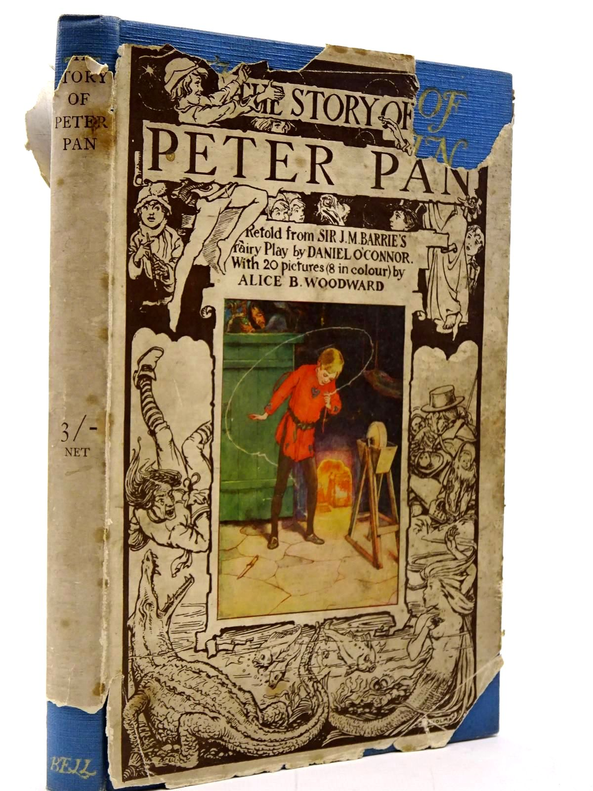 Photo of THE STORY OF PETER PAN written by Barrie, J.M.
