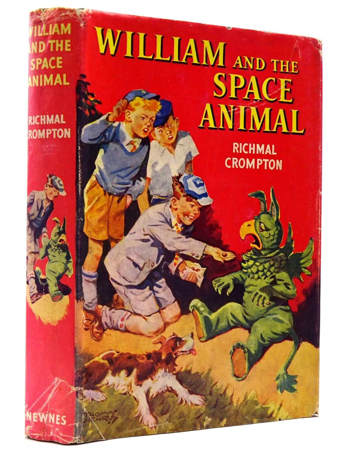 Photo of WILLIAM AND THE SPACE ANIMAL written by Crompton, Richmal illustrated by Henry, Thomas published by George Newnes (STOCK CODE: 2130259)  for sale by Stella & Rose's Books