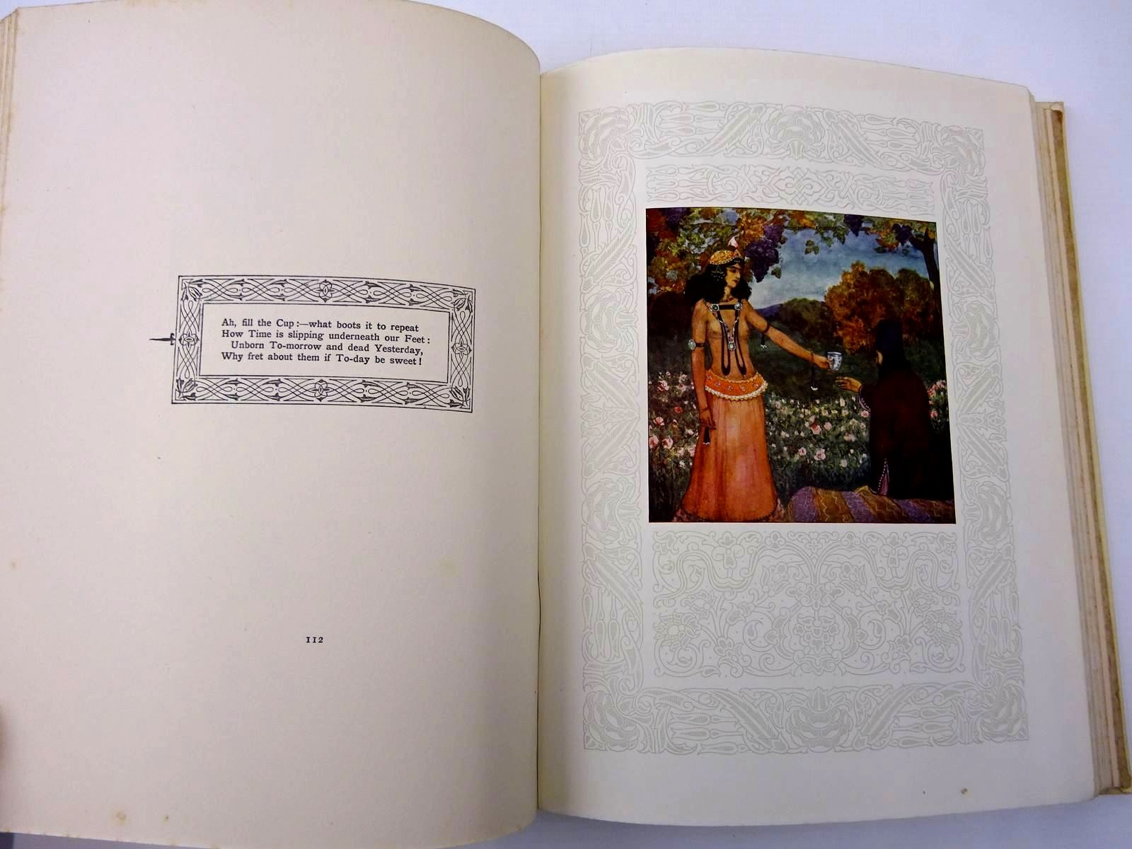 Photo of RUBAIYAT OF OMAR KHAYYAM written by Fitzgerald, Edward Nicholson, R.A. illustrated by James, Gilbert published by Adam & Charles Black (STOCK CODE: 2130263)  for sale by Stella & Rose's Books