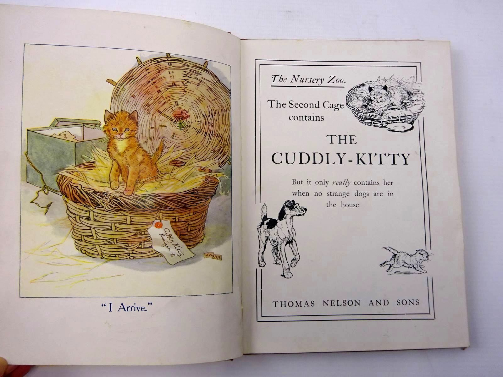 Photo of THE CUDDLY-KITTY BOOK written by Anderson, Anne