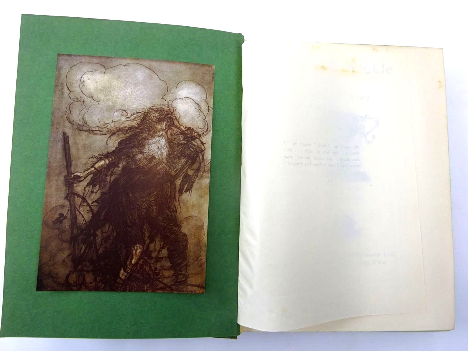 Photo of RIP VAN WINKLE written by Irving, Washington illustrated by Rackham, Arthur published by William Heinemann (STOCK CODE: 2130277)  for sale by Stella & Rose's Books