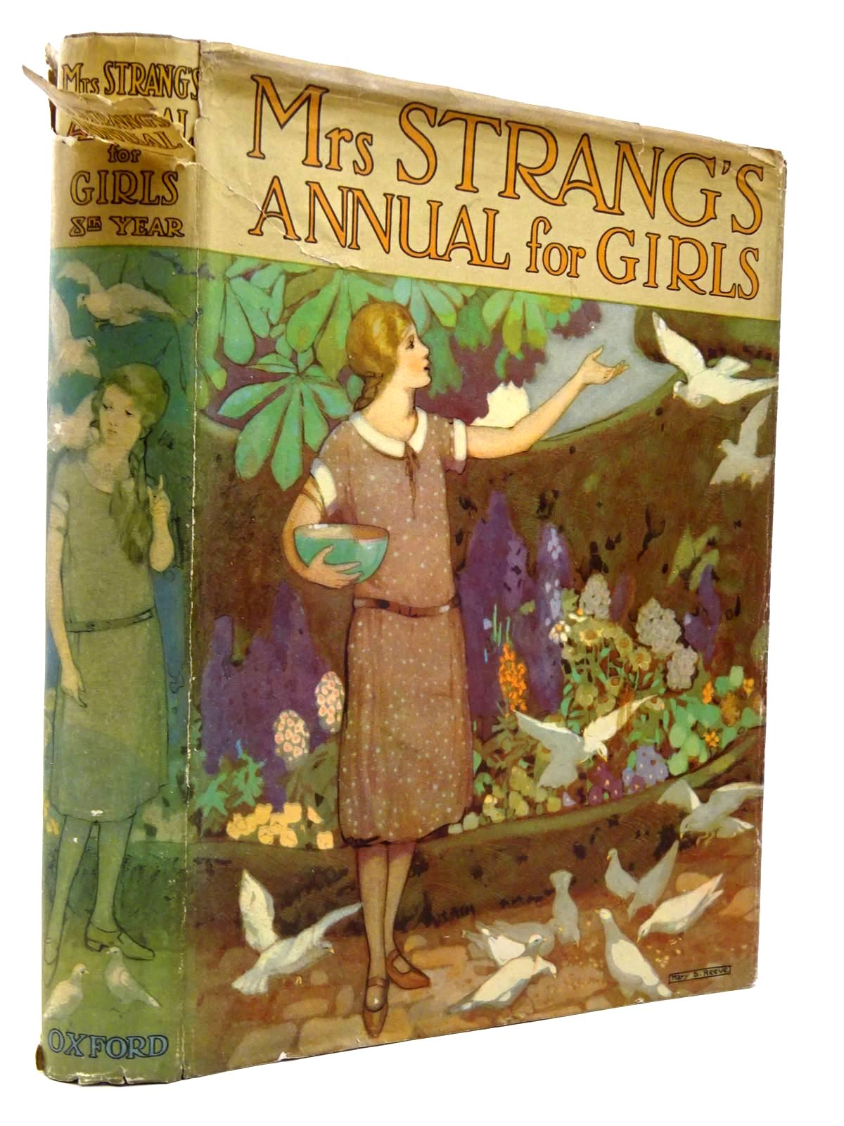 Photo of MRS STRANG'S ANNUAL FOR GIRLS written by Strang, Mrs. Herbert Darch, Winifred Bruce, Dorita Fairlie et al,  illustrated by Brock, C.E. Harrison, Florence Reeve, Mary Strange et al.,  published by Oxford University Press, Humphrey Milford (STOCK CODE: 2130302)  for sale by Stella & Rose's Books