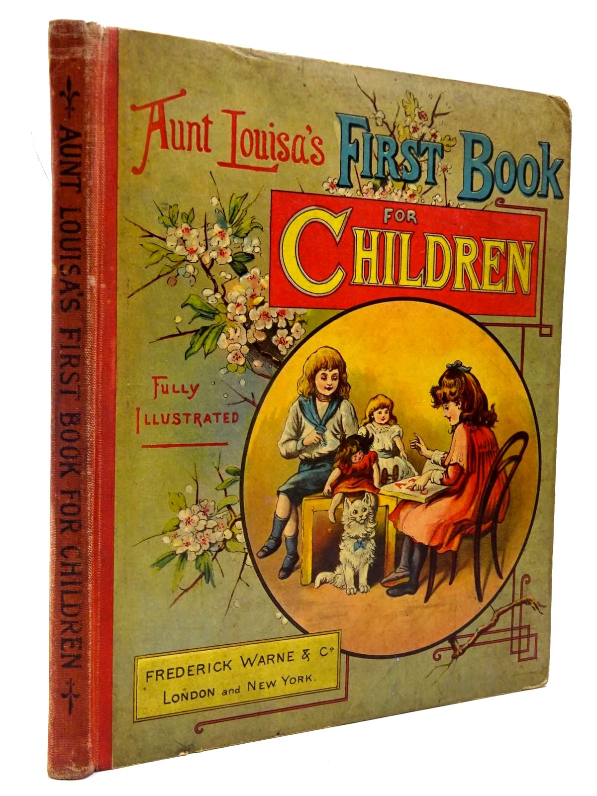 Photo of AUNT LOUISA'S FIRST BOOK FOR CHILDREN- Stock Number: 2130317