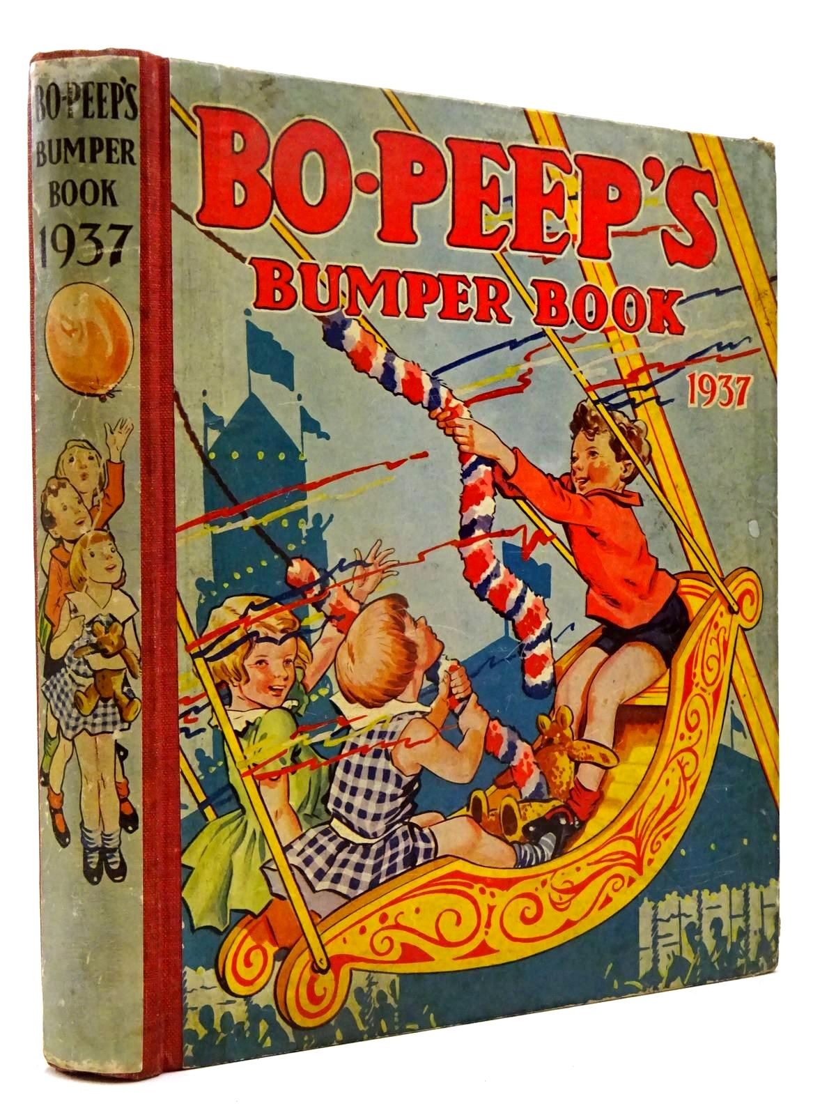 Photo of BO-PEEP'S BUMPER BOOK 1937 illustrated by Jacobs, S. published by The Amalgamated Press Limited (STOCK CODE: 2130318)  for sale by Stella & Rose's Books