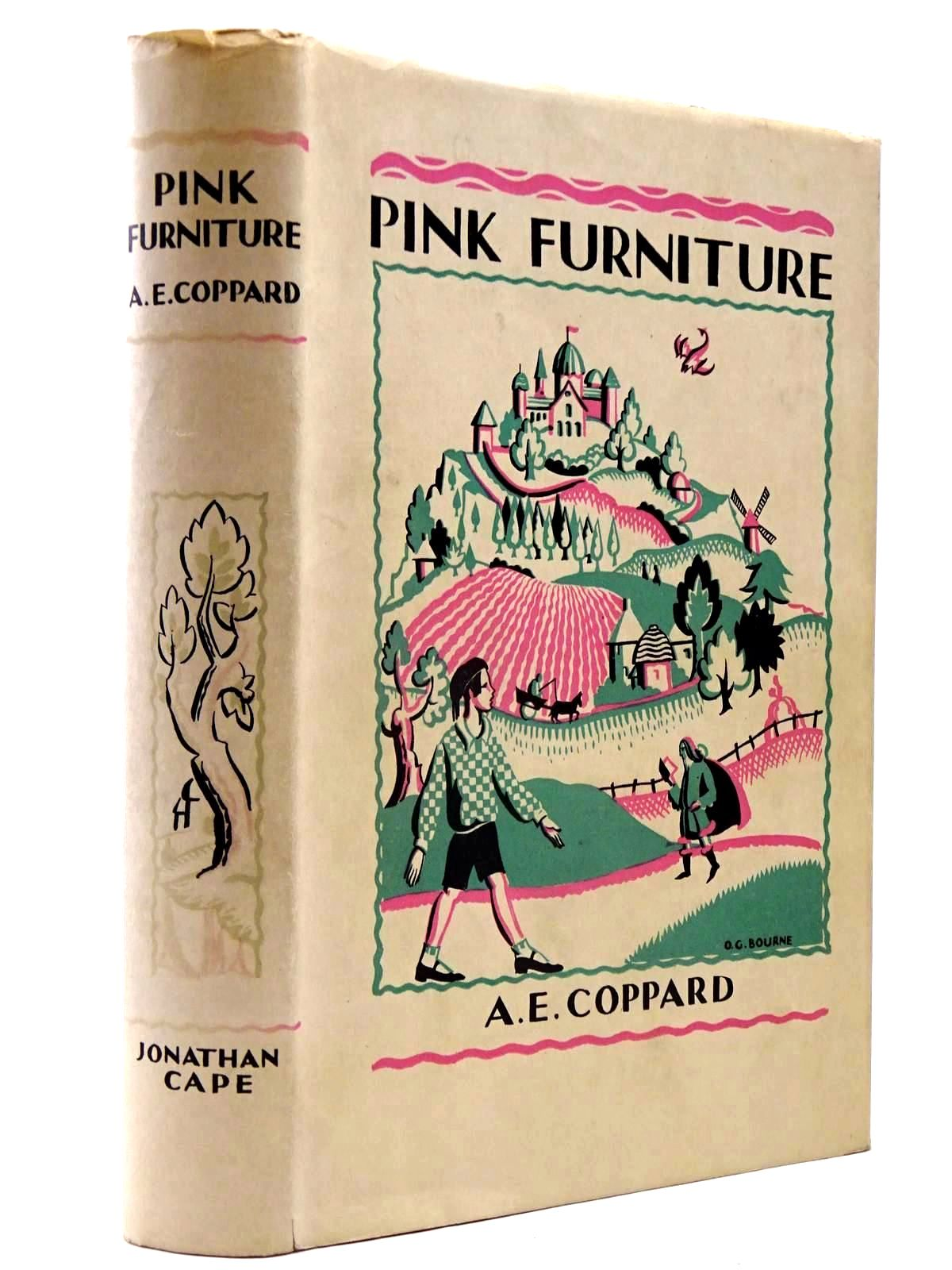 Photo of PINK FURNITURE written by Coppard, A.E. illustrated by Gurney, Nancy Bankart published by Jonathan Cape (STOCK CODE: 2130348)  for sale by Stella & Rose's Books