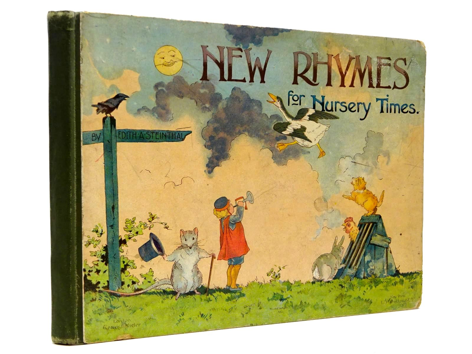 Photo of NEW RHYMES FOR NURSERY TIMES written by Steinthal, Edith A. published by E.P. Dutton & Co. (STOCK CODE: 2130363)  for sale by Stella & Rose's Books