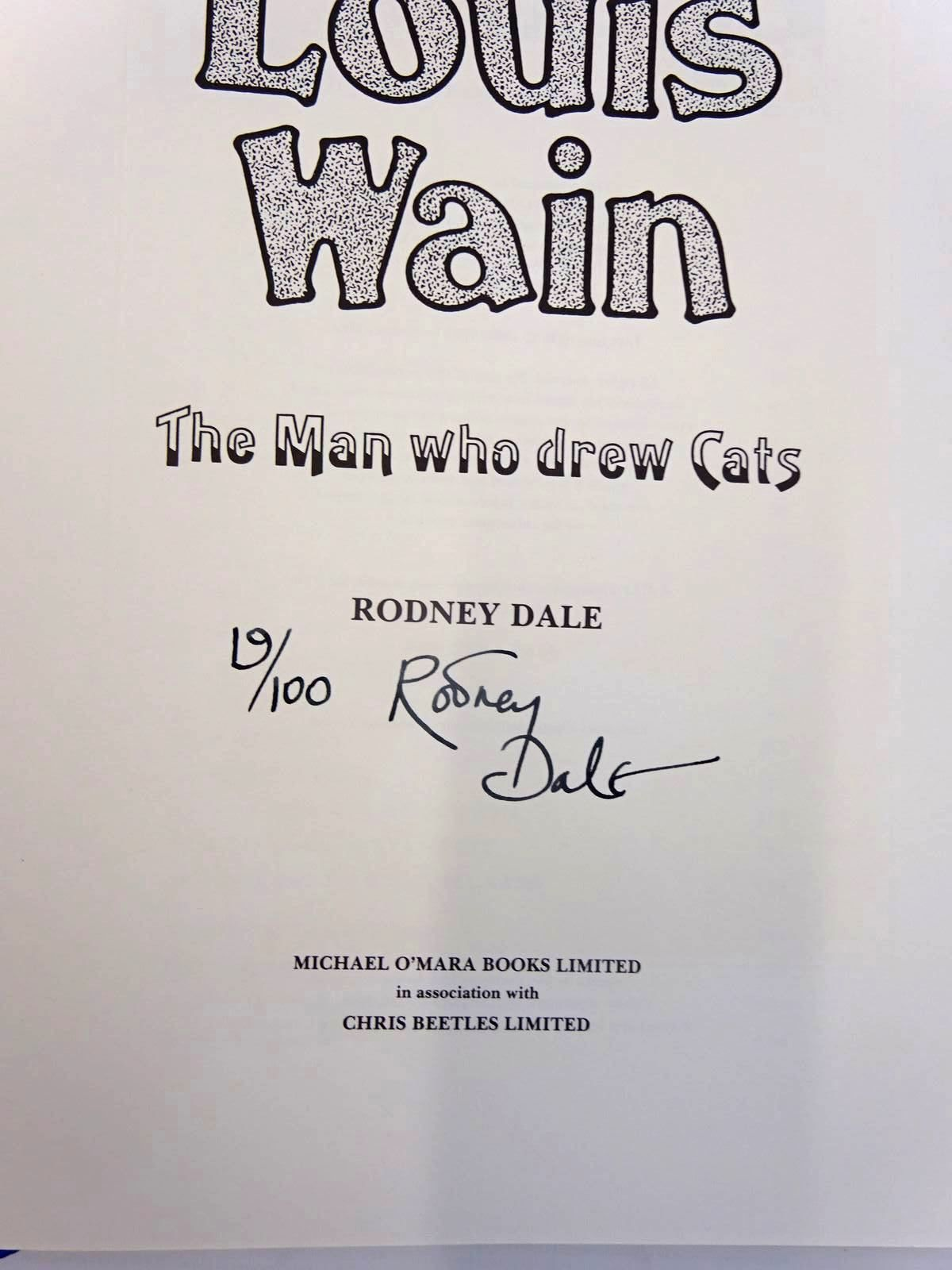 Photo of LOUIS WAIN: THE MAN WHO DREW CATS written by Dale, Rodney illustrated by Wain, Louis published by Michael O'Mara Books Limited, Chris Beetles Ltd. (STOCK CODE: 2130368)  for sale by Stella & Rose's Books