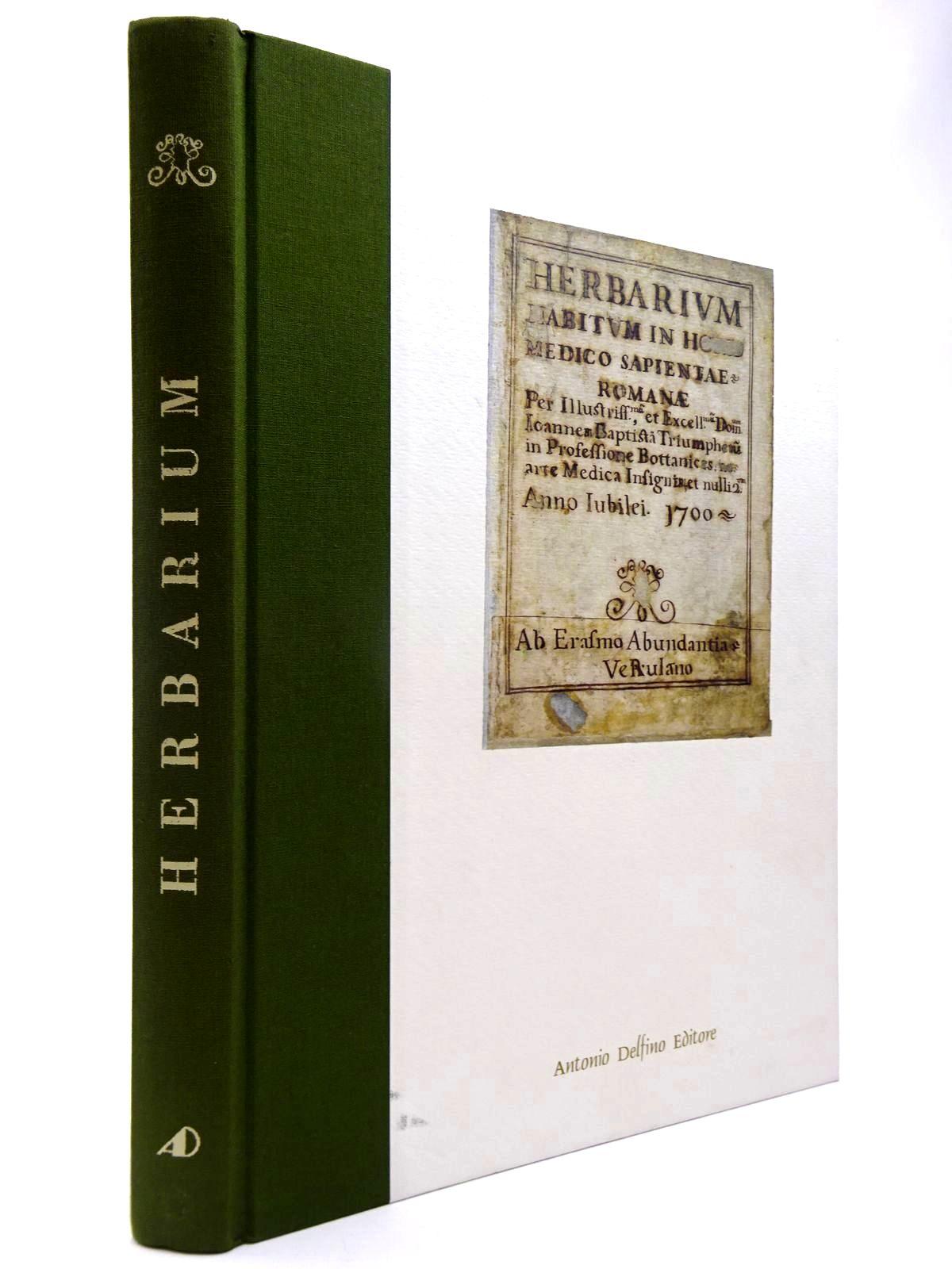 Photo of HERBARIUM HABITUM IN HORTO MEDICO SAPIENTIAE ROMANAE ANNO LUBILEI 1700- Stock Number: 2130369