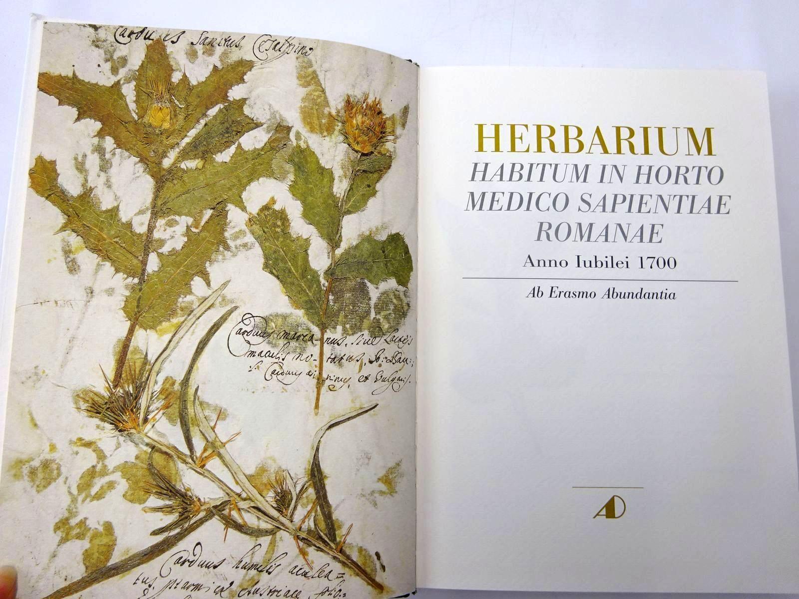 Photo of HERBARIUM HABITUM IN HORTO MEDICO SAPIENTIAE ROMANAE ANNO LUBILEI 1700 published by Antonio Delfino Editore (STOCK CODE: 2130369)  for sale by Stella & Rose's Books