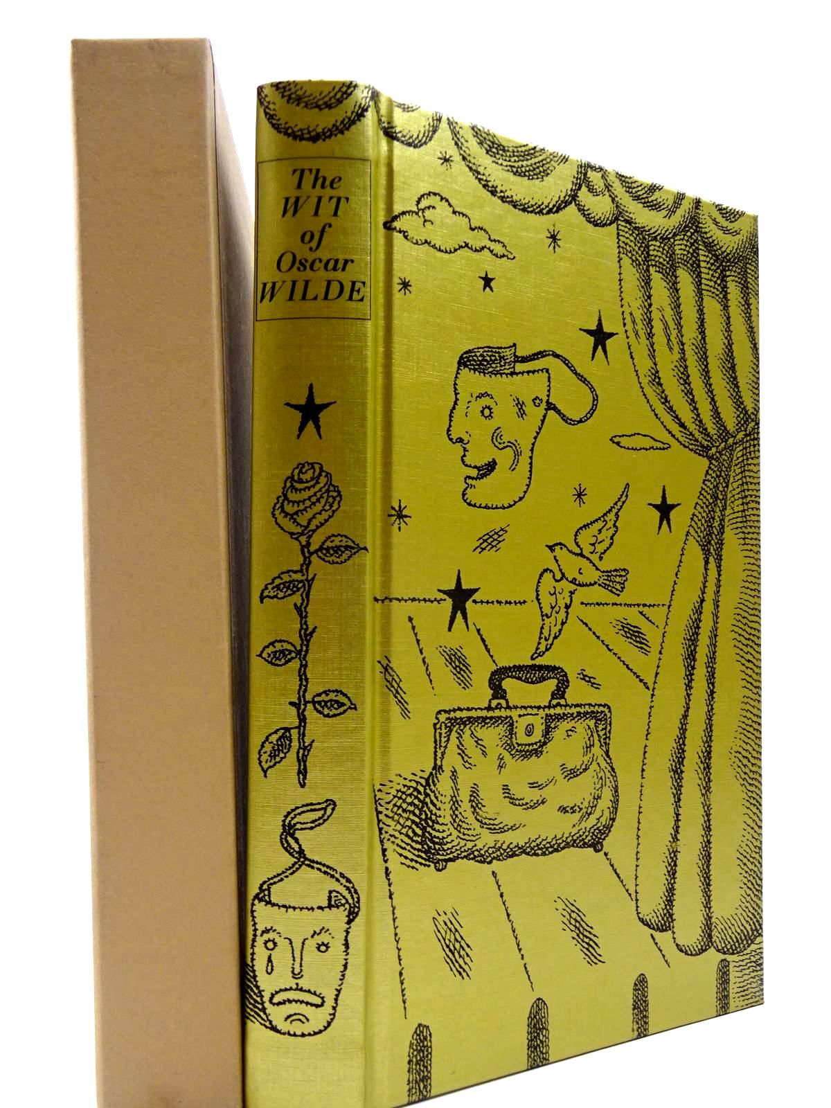 Photo of THE WIT OF OSCAR WILDE written by Wilde, Oscar illustrated by Beck, Ian Archie published by Folio Society (STOCK CODE: 2130379)  for sale by Stella & Rose's Books