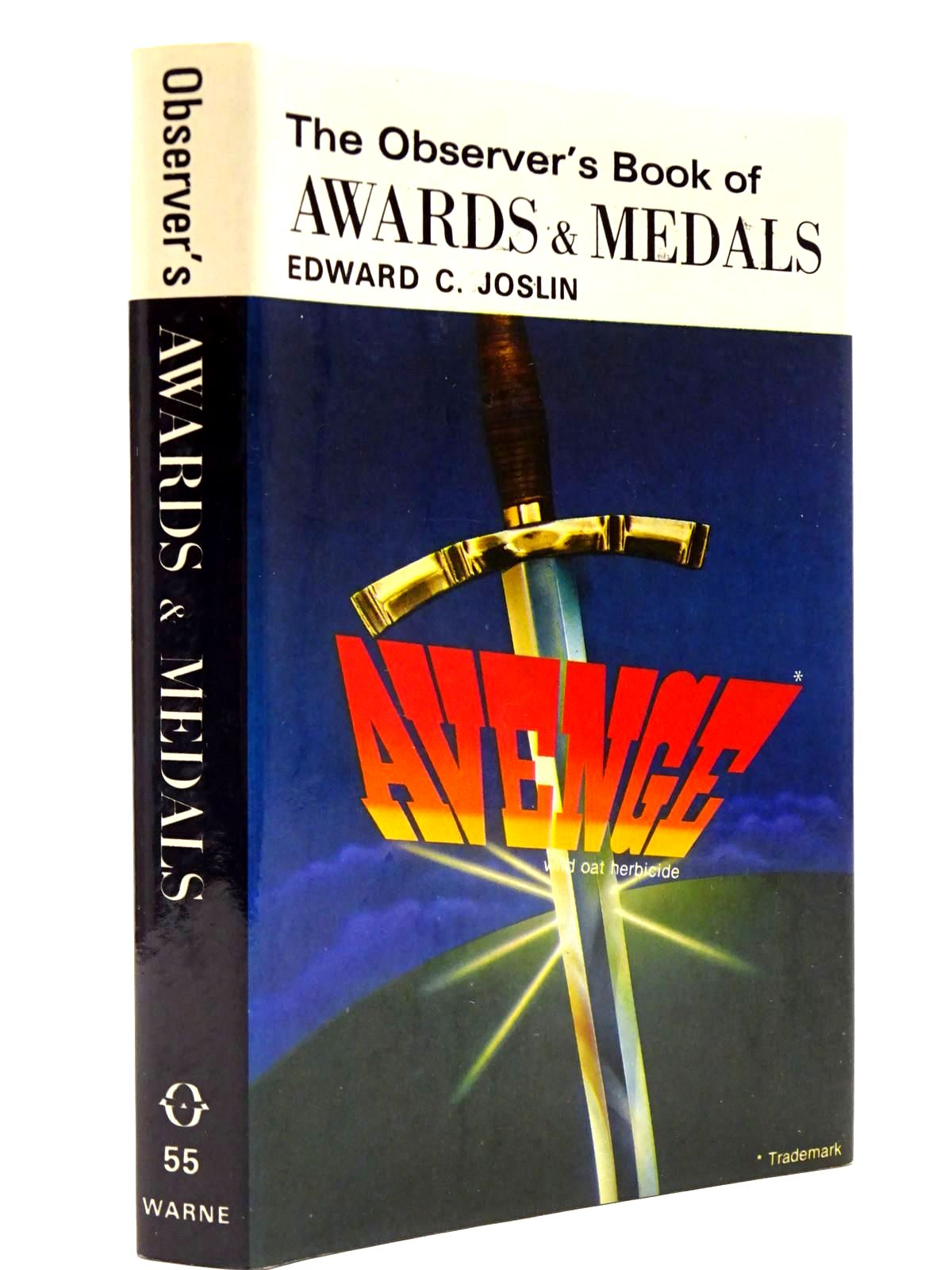 Photo of THE OBSERVER'S BOOK OF BRITISH AWARDS AND MEDALS (CYANAMID WRAPPER)- Stock Number: 2130411