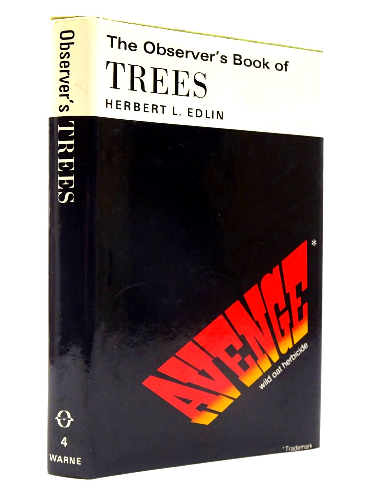 Photo of THE OBSERVER'S BOOK OF TREES (CYANAMID WRAPPER) written by Edlin, Herbert L. published by Frederick Warne & Co Ltd. (STOCK CODE: 2130412)  for sale by Stella & Rose's Books